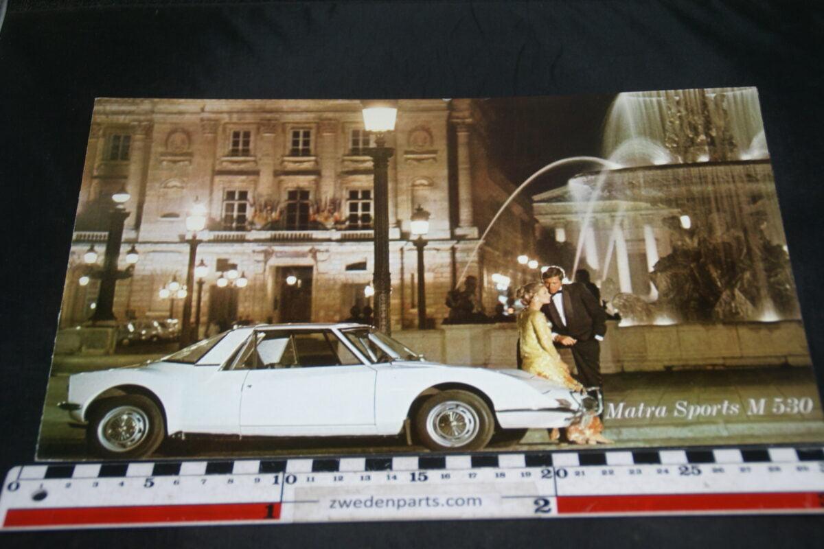 DSC04889 Matra Sports M530 brochure