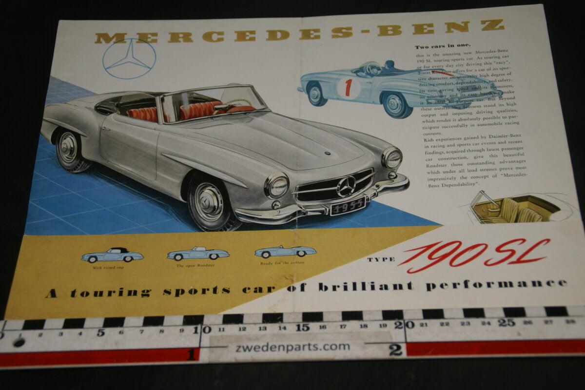 DSC04896 Mercedes 190 SL brochure