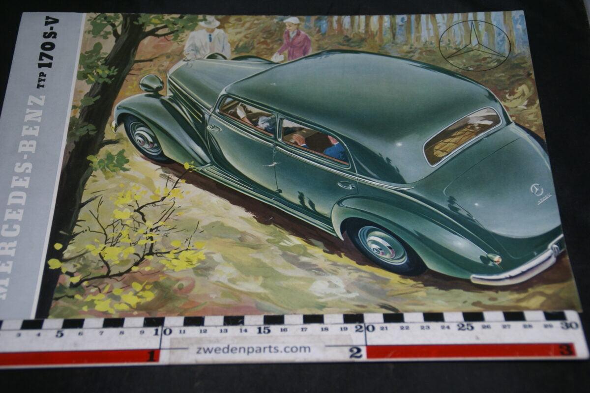 DSC04898 1953b Mercedes 170S-V brochure