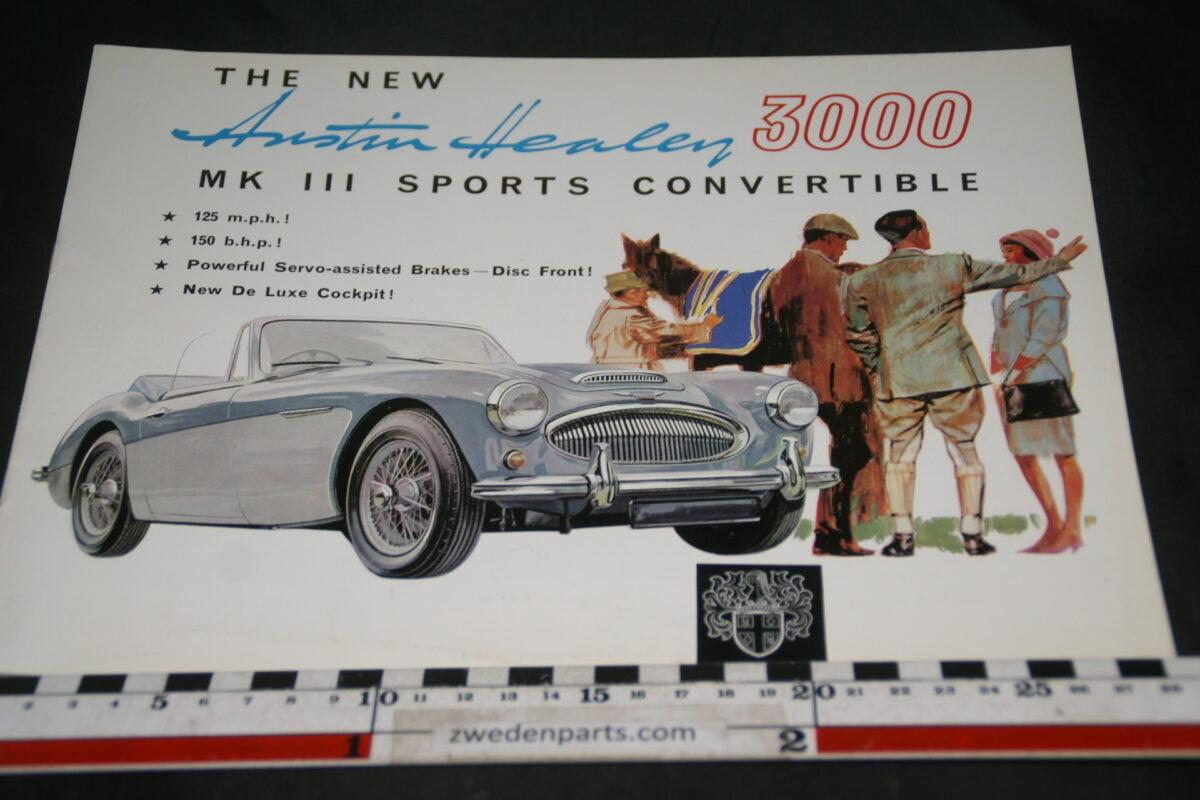 DSC04905 va 1962 Austin Healy 3000 MK III Sports Convertible brochure
