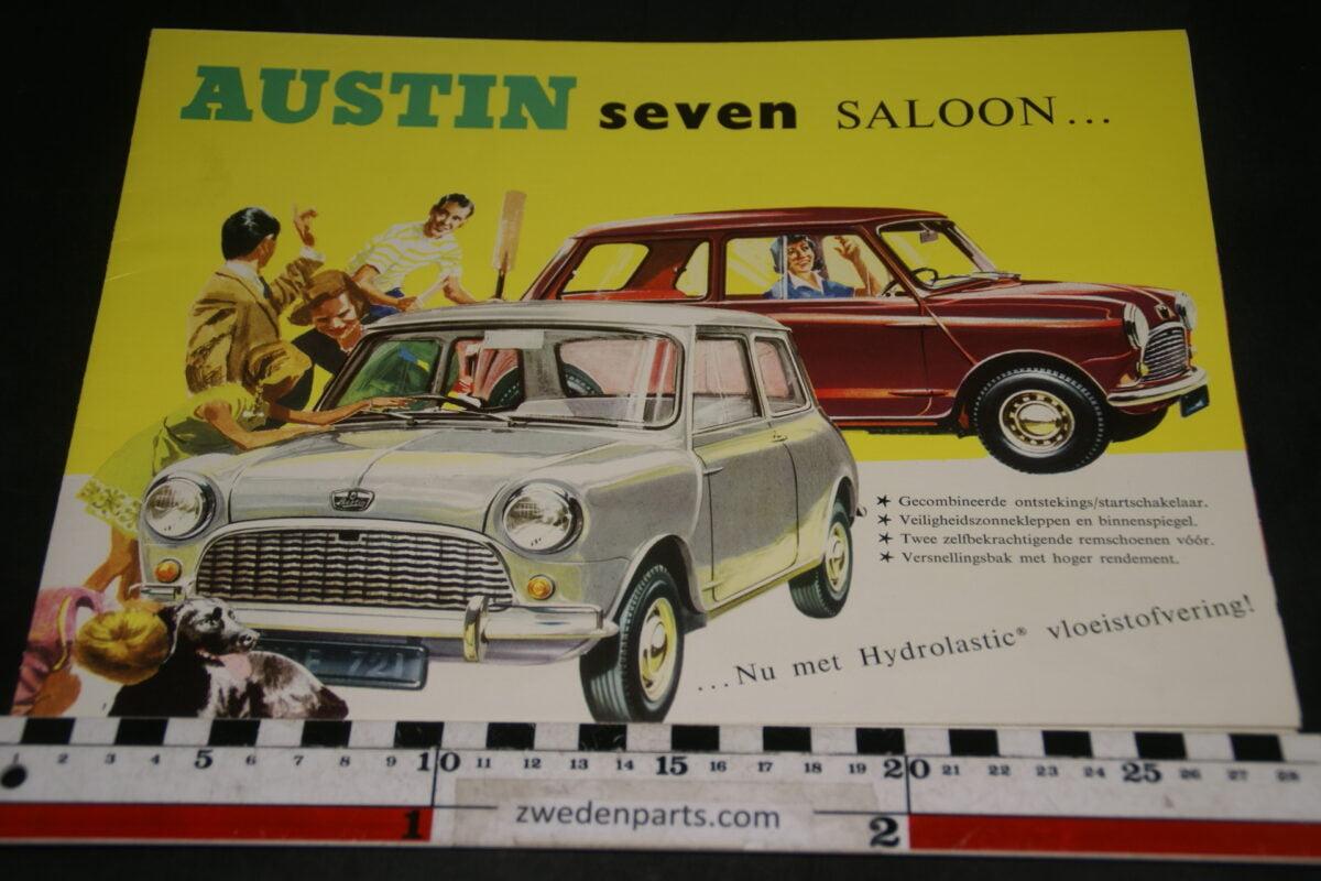 DSC04912 Austin Seven Mini Saloon brochure