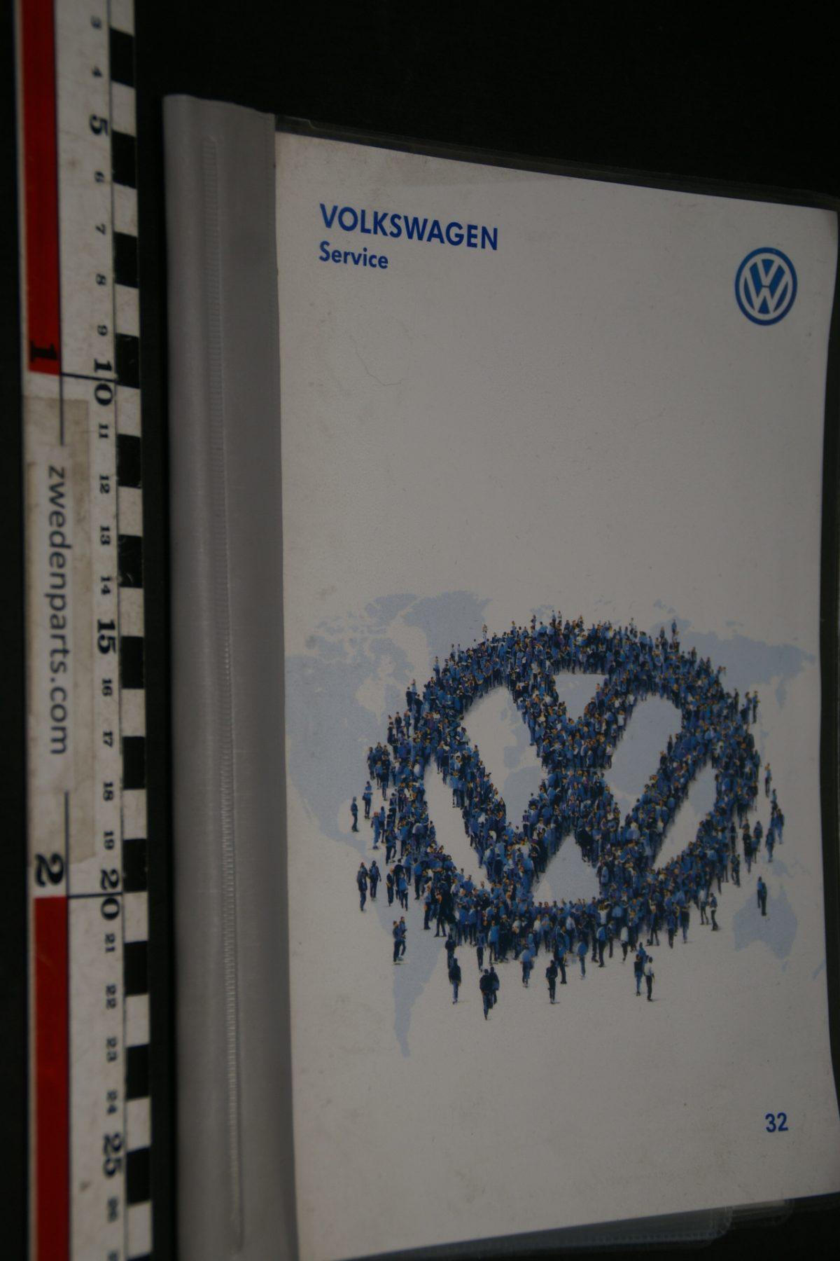 DSC04924 Volkswagen Service boek