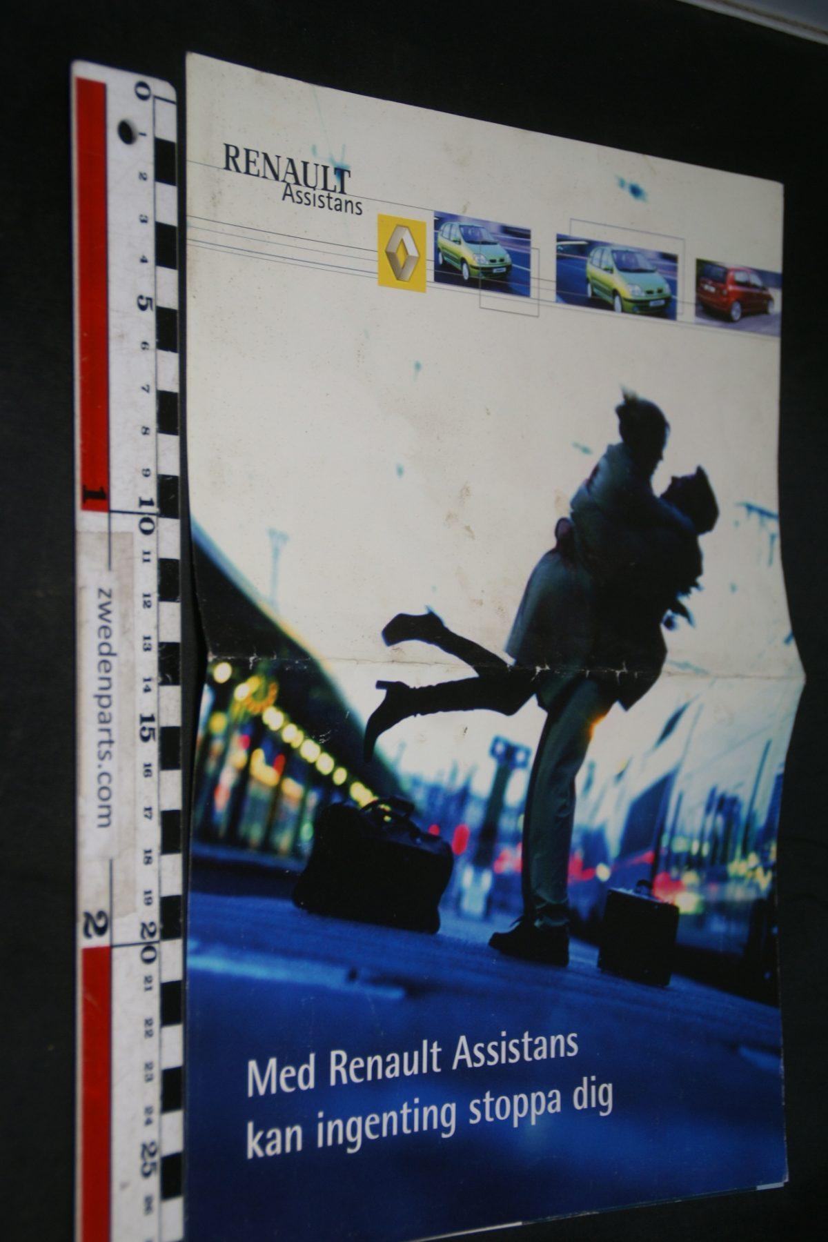 DSC04930 2001 Renault assintance brochure