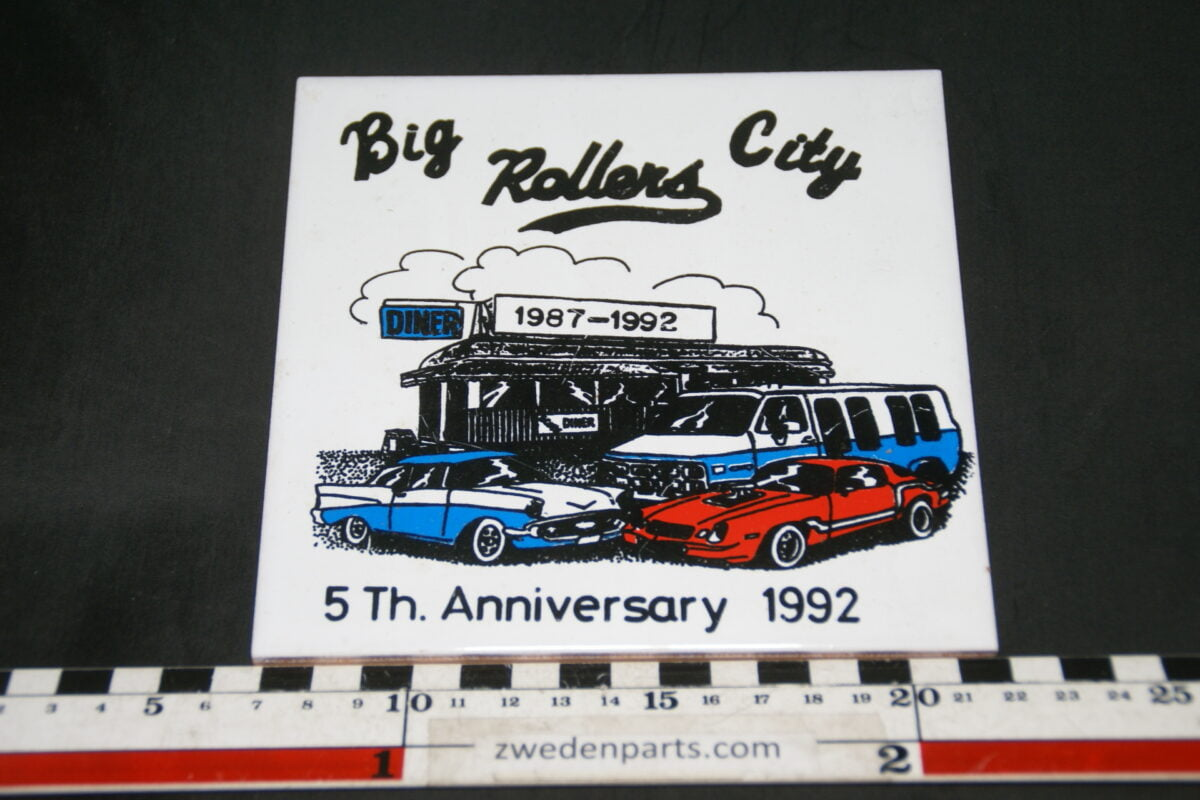 DSC04951 1992 tegel 5e verjaardag Big City Rollers