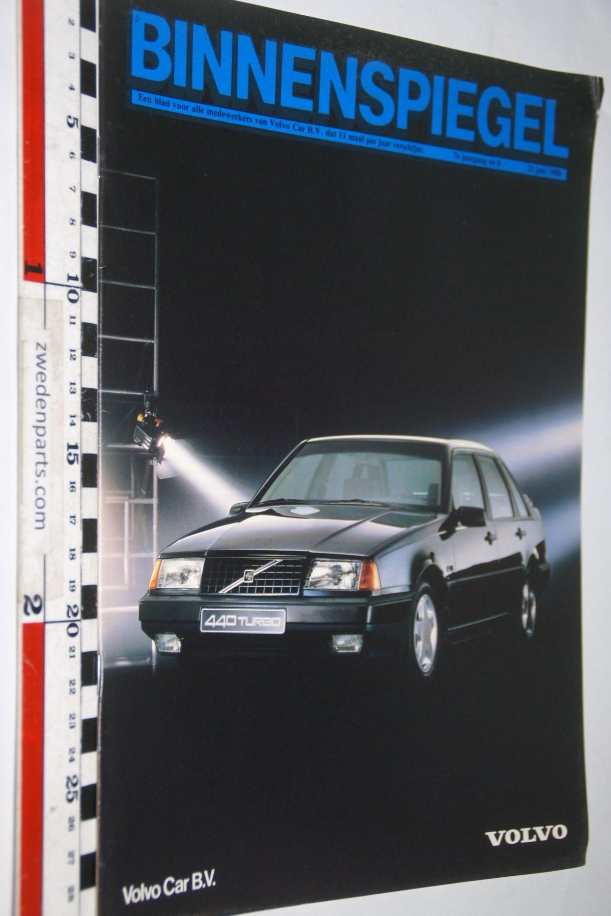 DSC04186 1988 juni tijdschrift Binnenspiegel Volvo 440