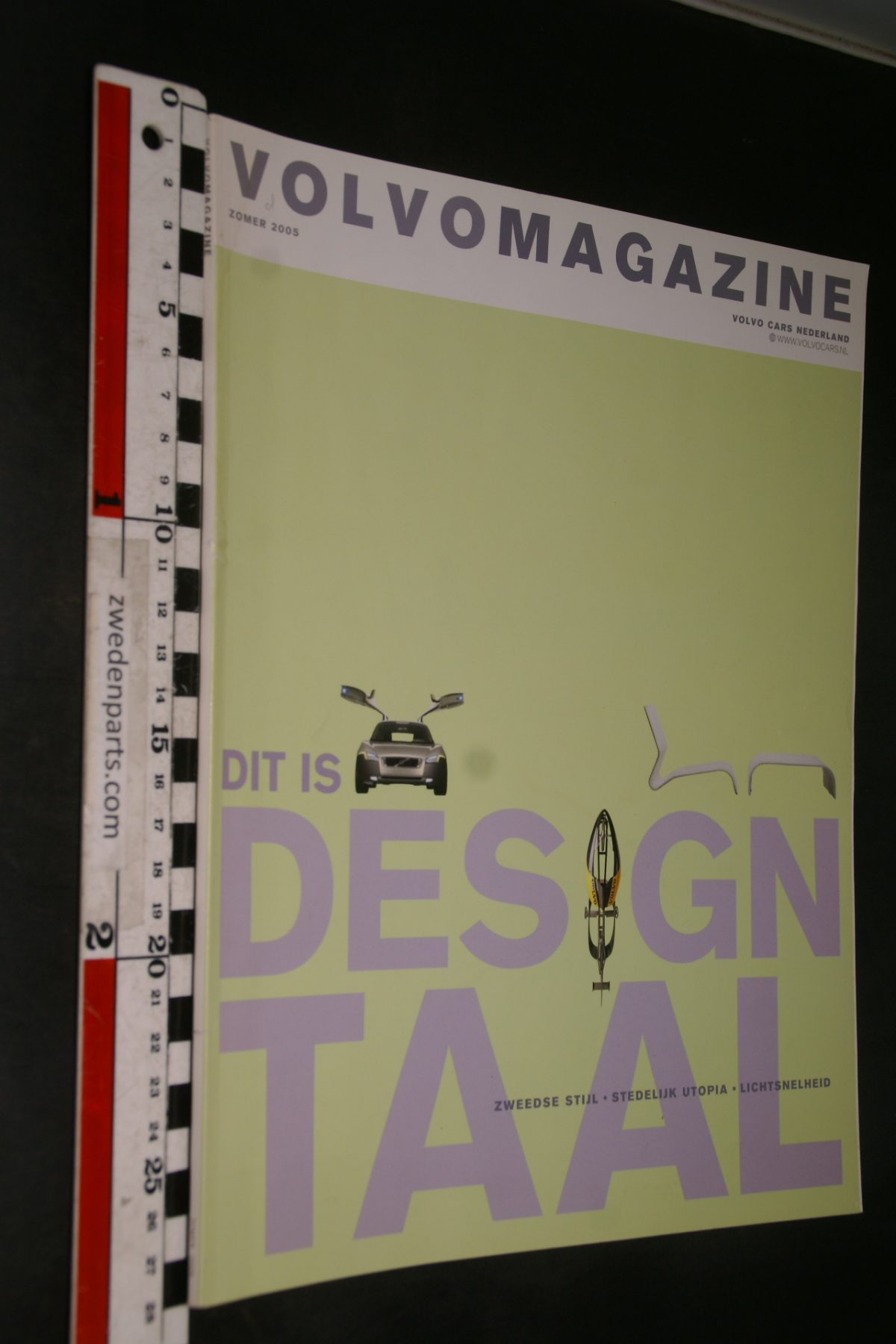 DSC04188 2005 zomer tijdschrift Volvomagazine design