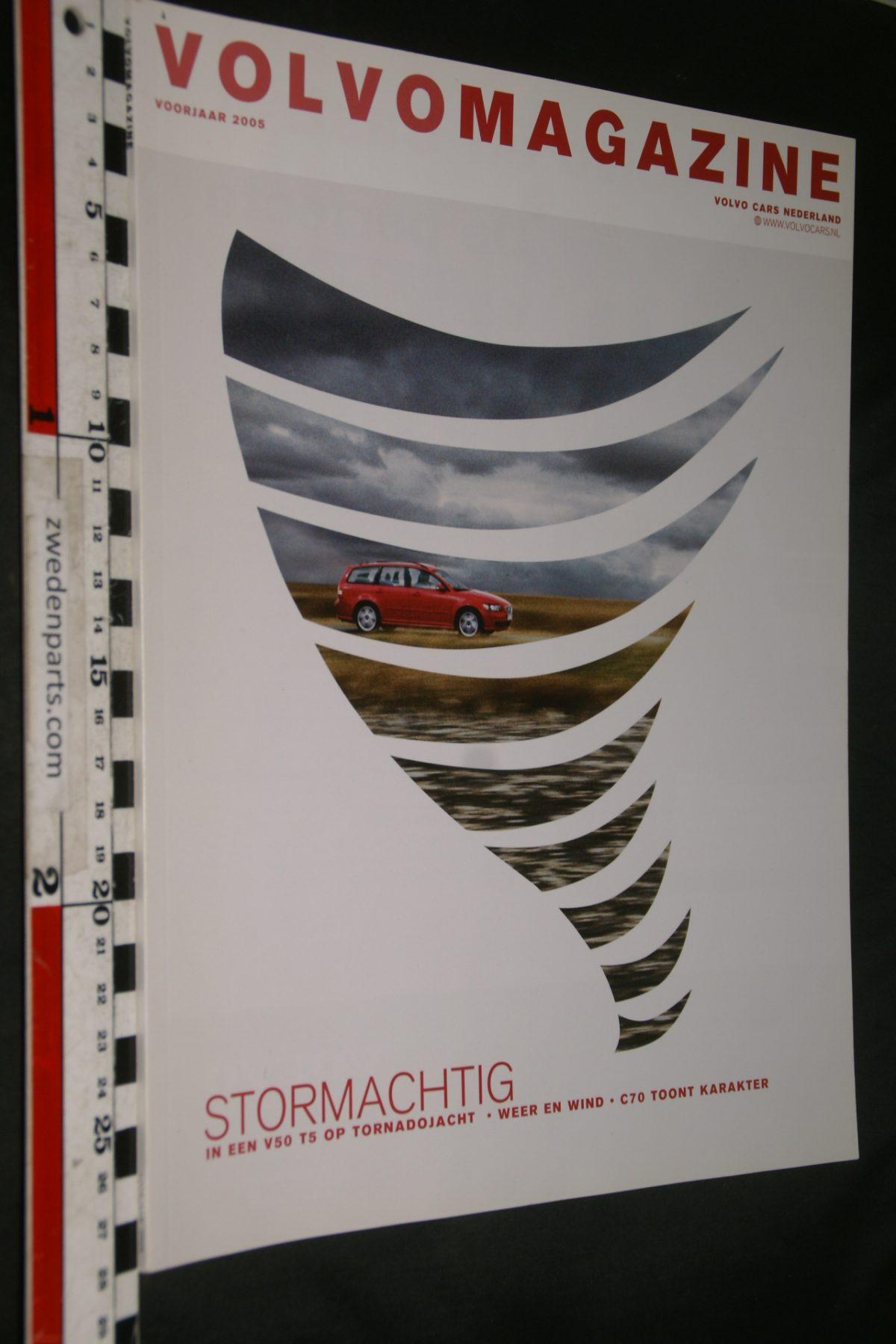 DSC04190 2005 voorjaar tijdschrift Volvomagazine V50 V70