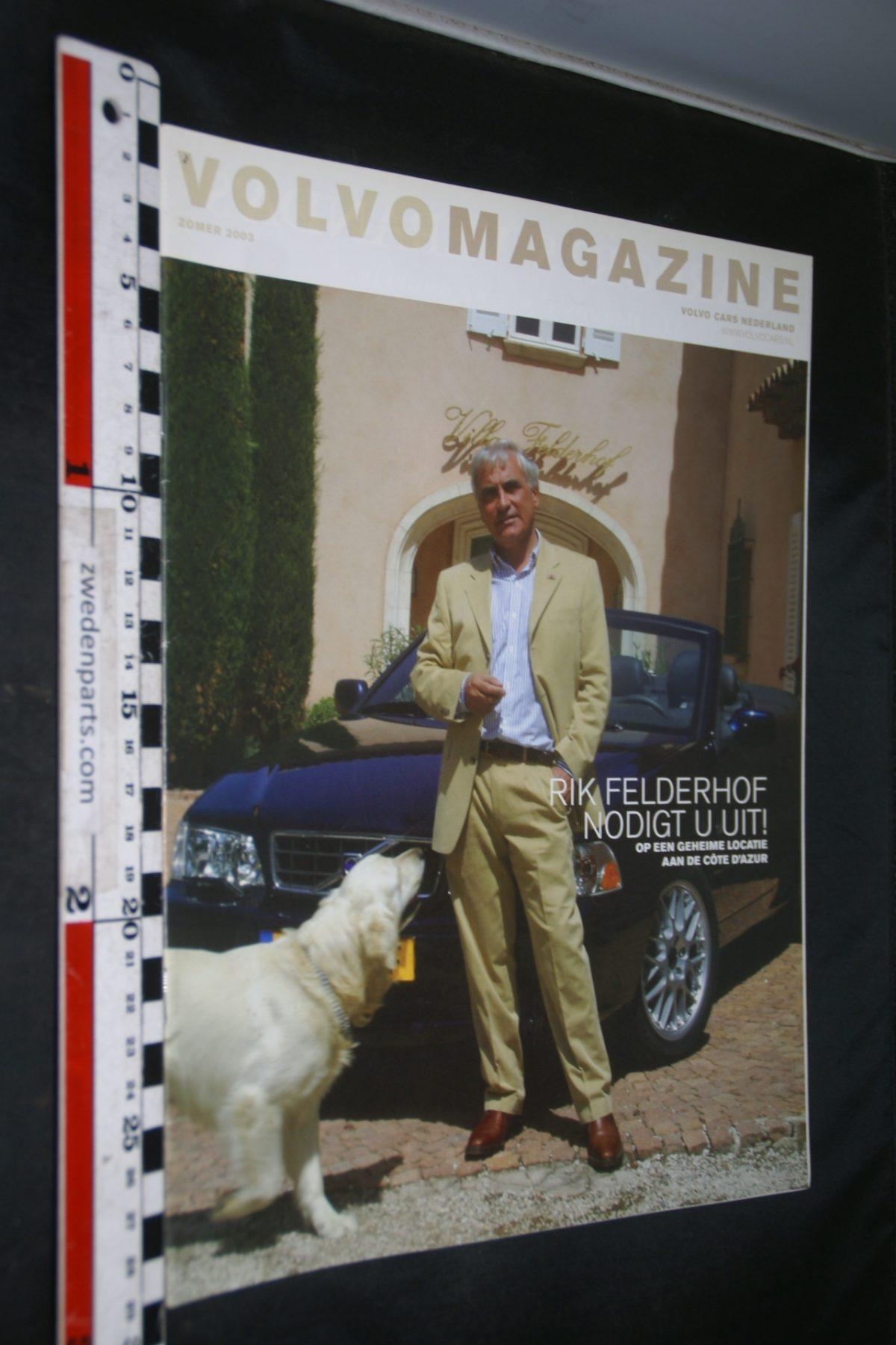 DSC04198 2003 zomer tijdschrift Volvomagazine Rik Felderhof