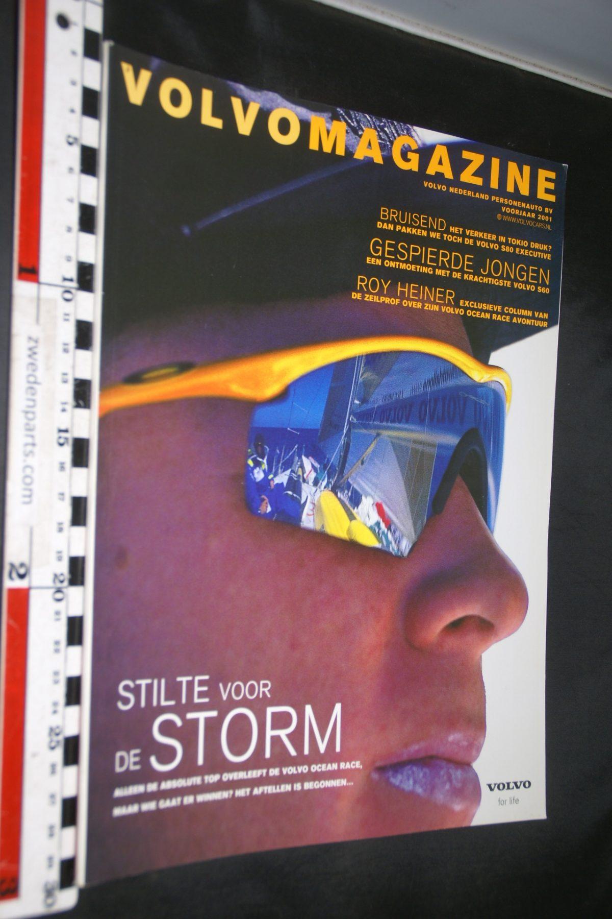 DSC04206 2001 voorjaar tijdschrift Volvomagazine stilte voor de storm