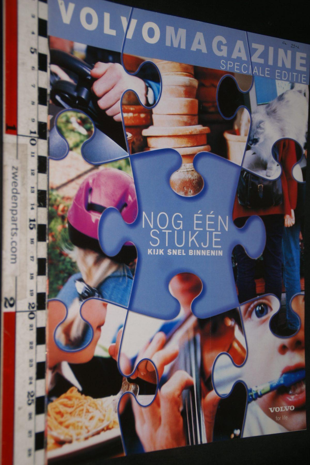 DSC04214 2000 tijdschrift Volvomagazine de nieuwe V70