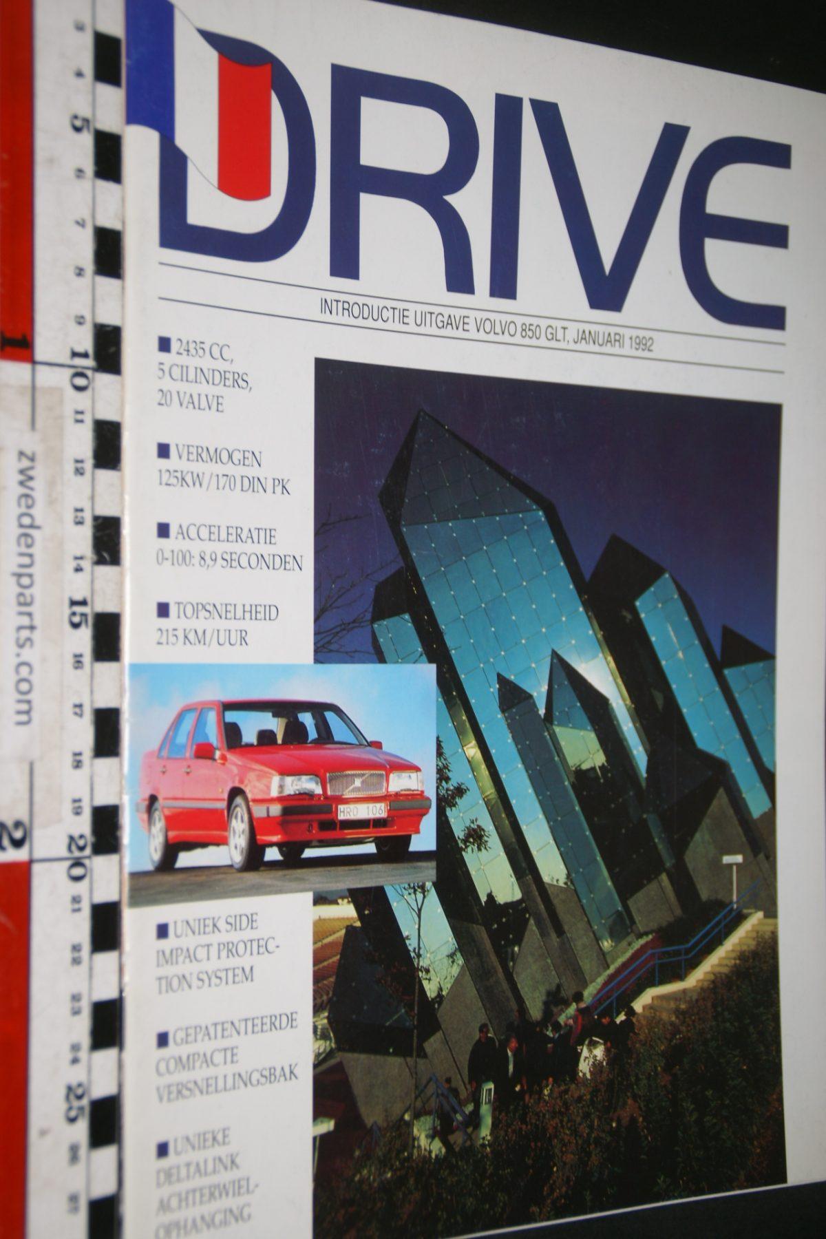 DSC04216 1992 januari tijdschrift Volvo Drive 850 GLT
