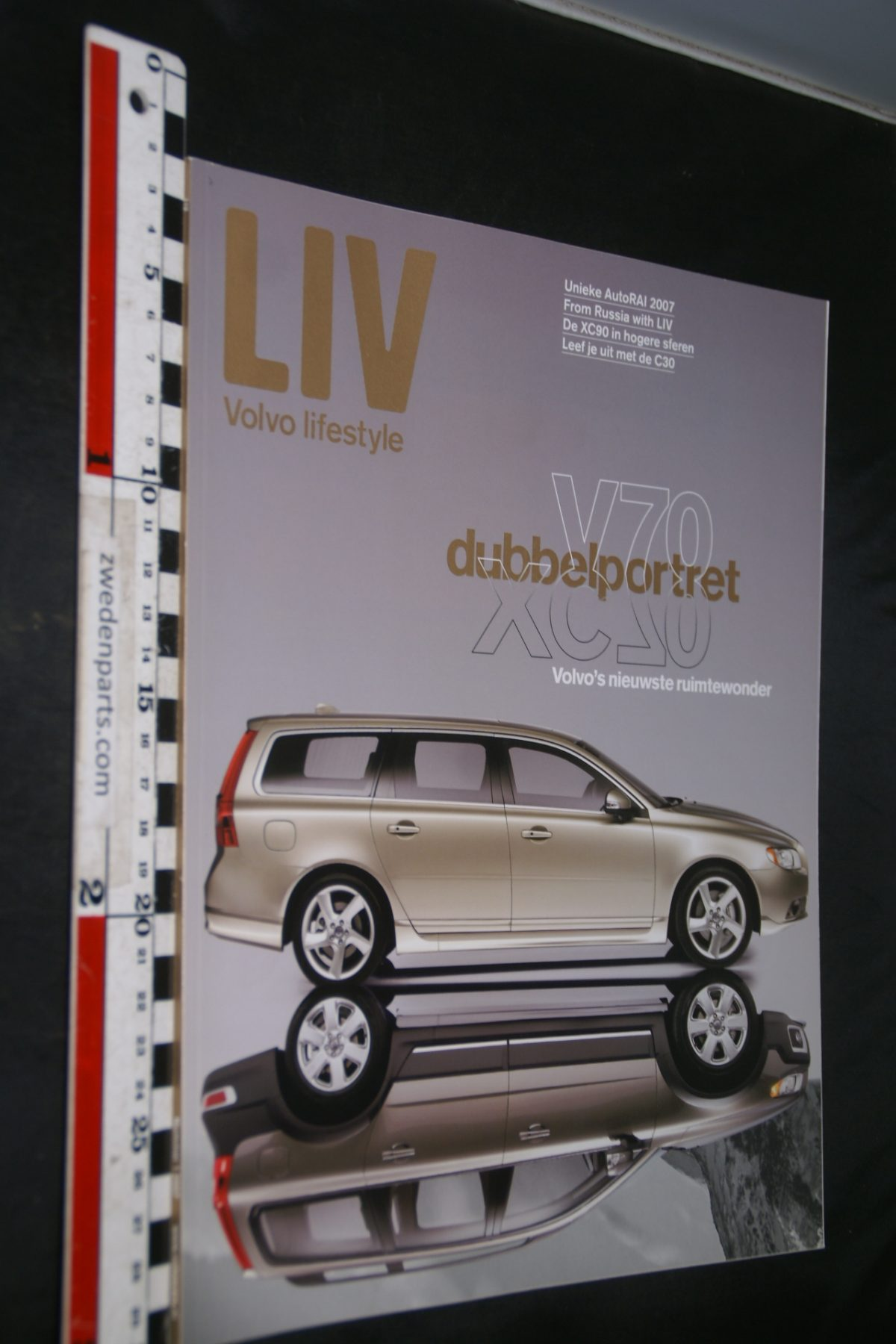 DSC04219  tijdschrift Volvo LIV V70 XC70
