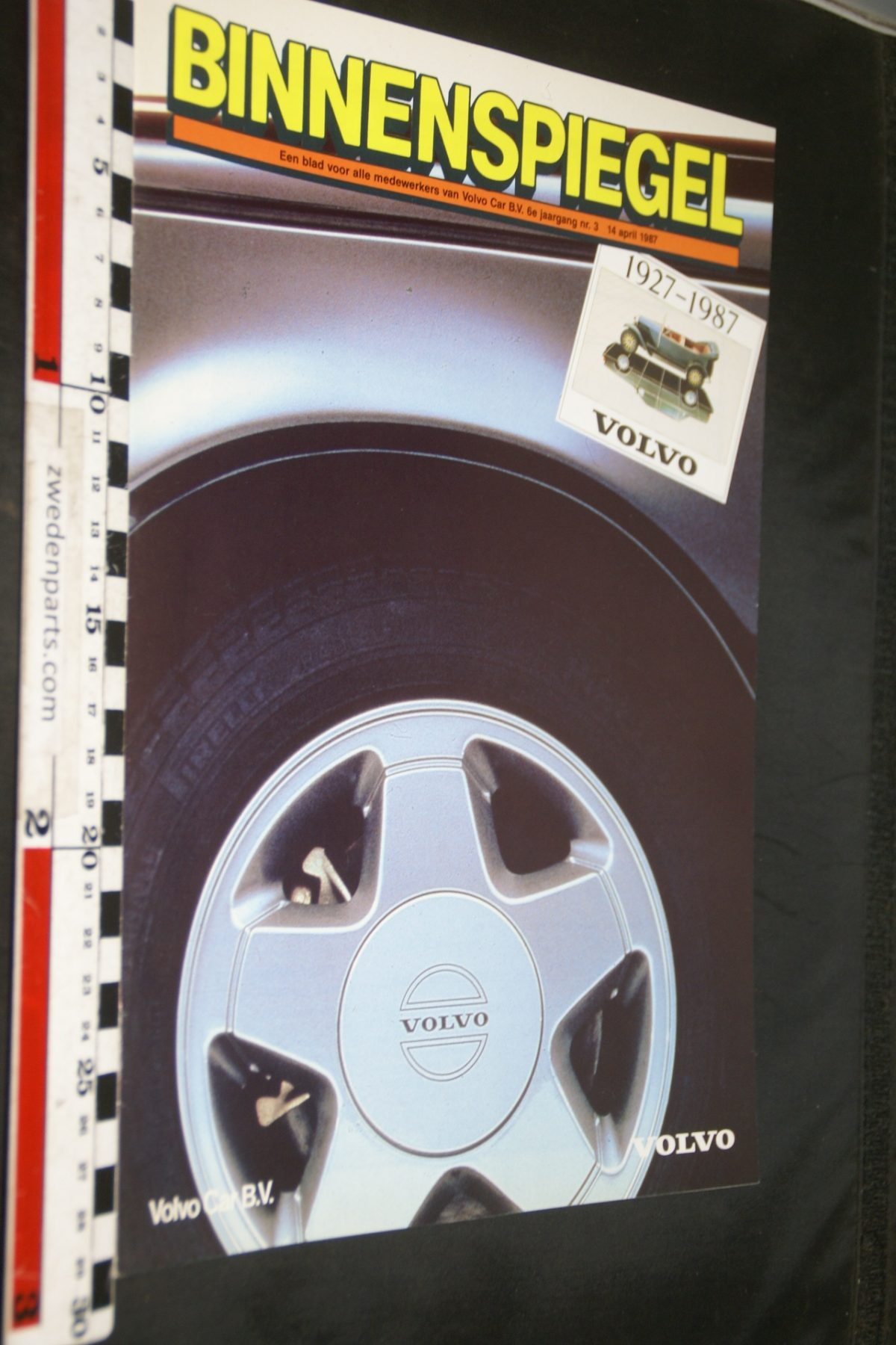 DSC05105 1987 tijdschrift Volvo Binnenspiegel nr 3