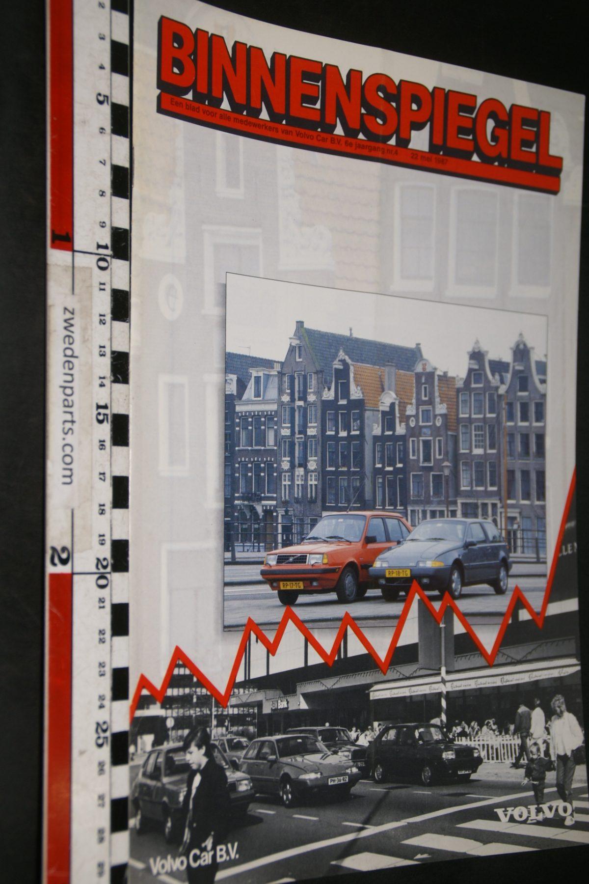 DSC05107 1987 tijdschrift Volvo Binnenspiegel nr 4