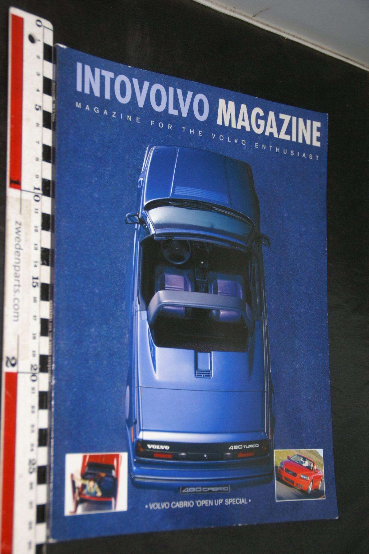 DSC05137 2006 tijdschrift Intovolvo 2006 nr 2 480 cabriolet