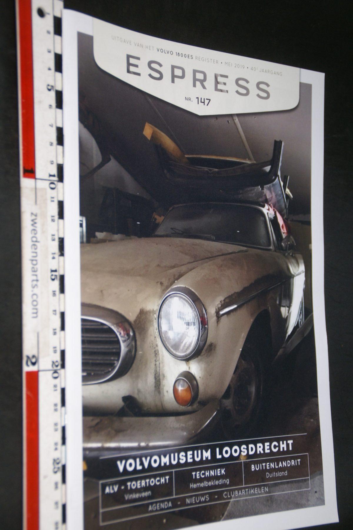 DSC05159 1919 tijdschrift Volvo 1800 ESPRESS nr 147
