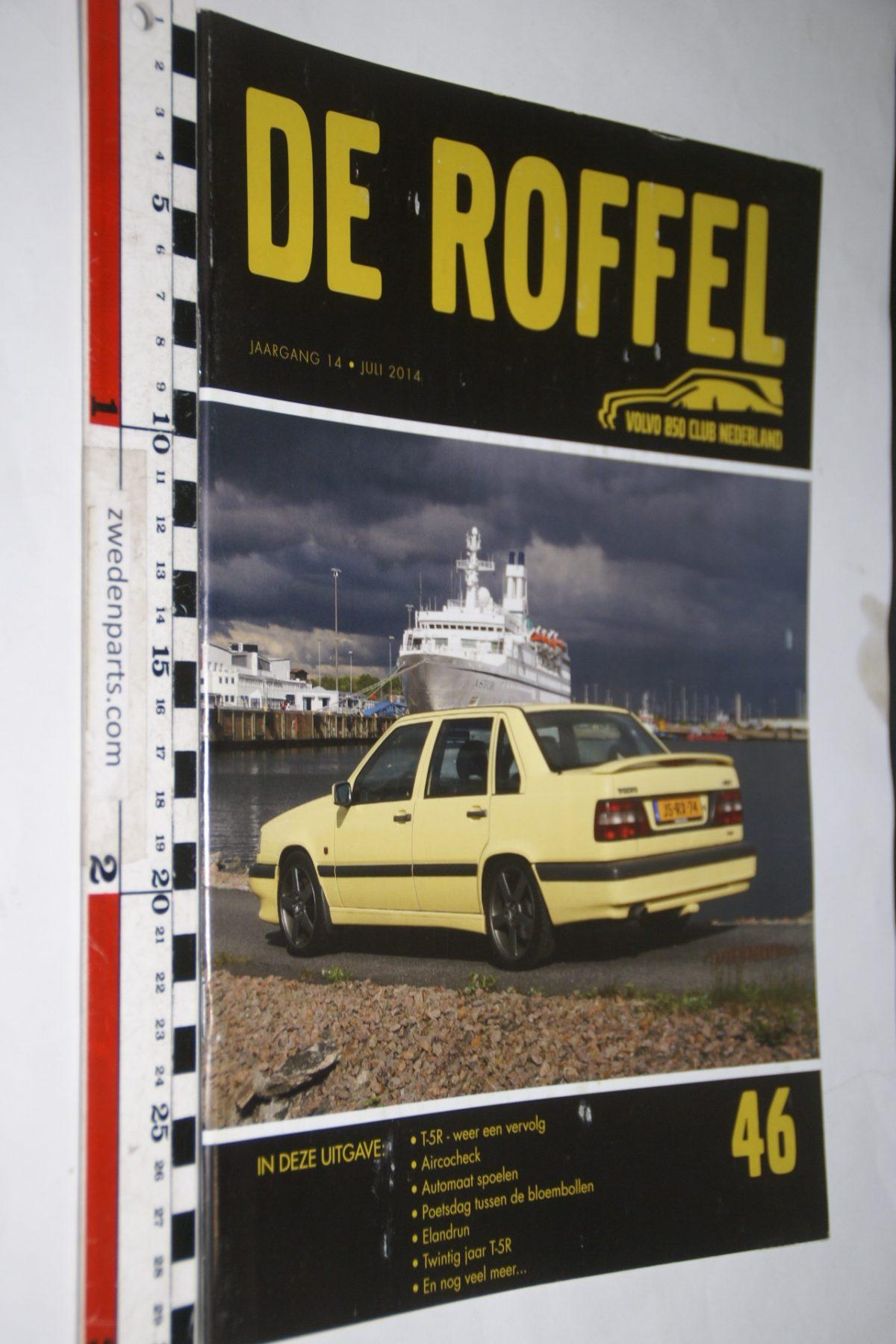 DSC05169 2014 tijdschrift De Roffel Volvo 850  nr 46