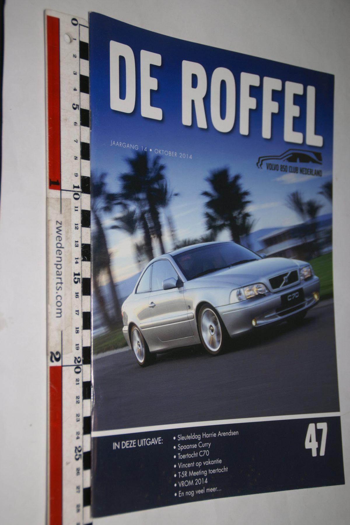 DSC05171 2014 tijdschrift De Roffel Volvo 850  nr 47