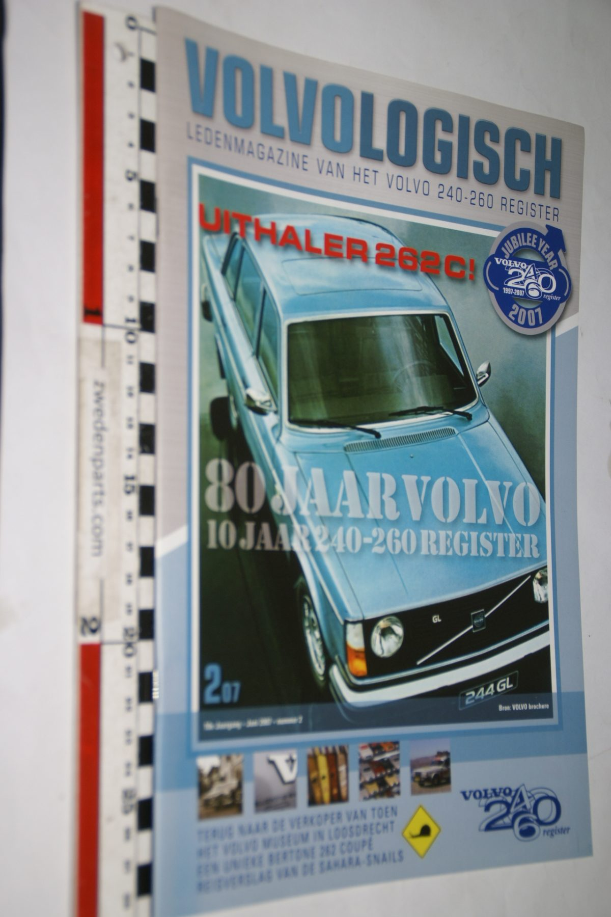 DSC05173 2007 tijdschrift Volvo Logisch 240 260