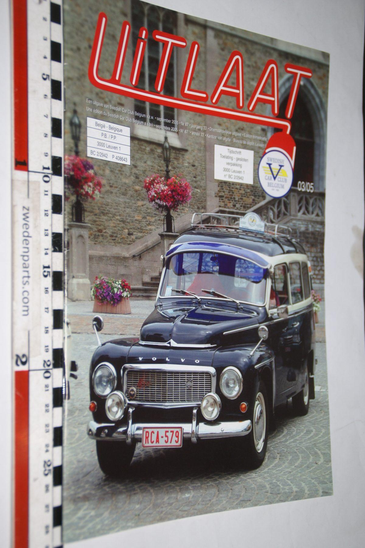 DSC05175 2005 tijdschrift Uitlaatl Volvo club Belgie  nr 3