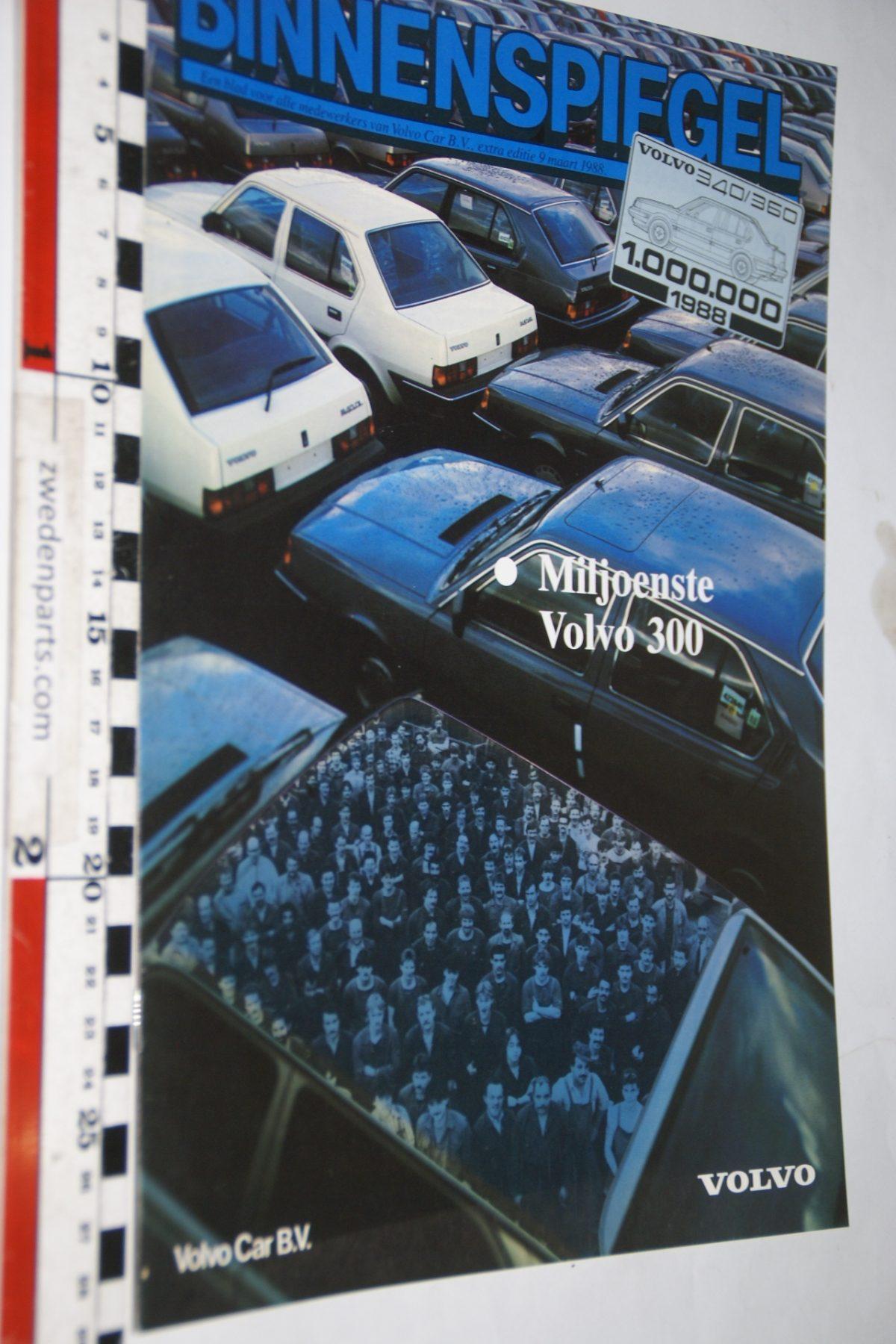 DSC05177 1988 tijdschrift Volvo Binnenspiegel nr 3