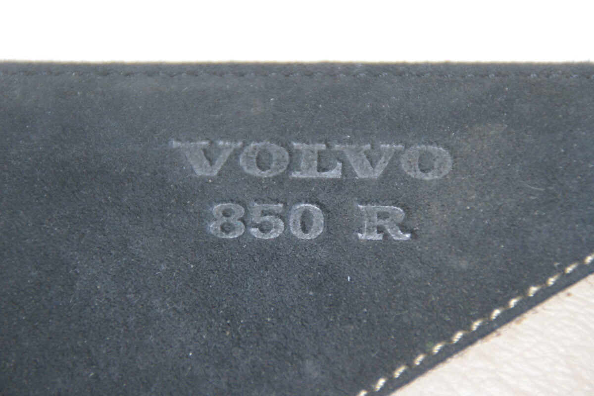 DSC05192 Volvo 850R lederen dokumentenmapje