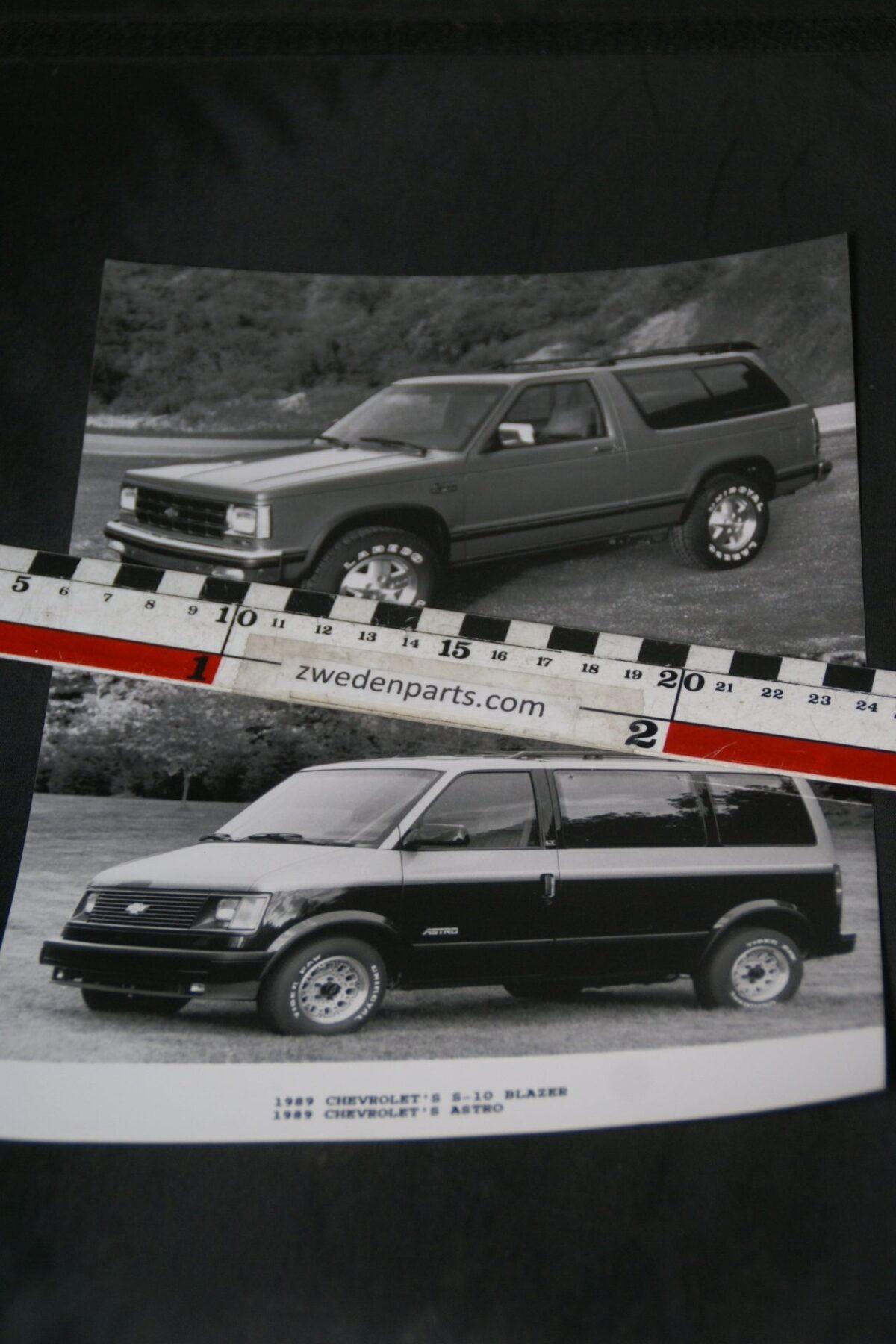 DSC05199 1989 originele persfoto Chevrolet Blazer en Astro