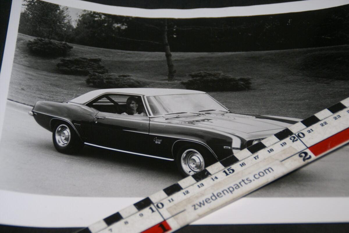 DSC05213 1969 originele persfoto Chevrolet Camaro SS