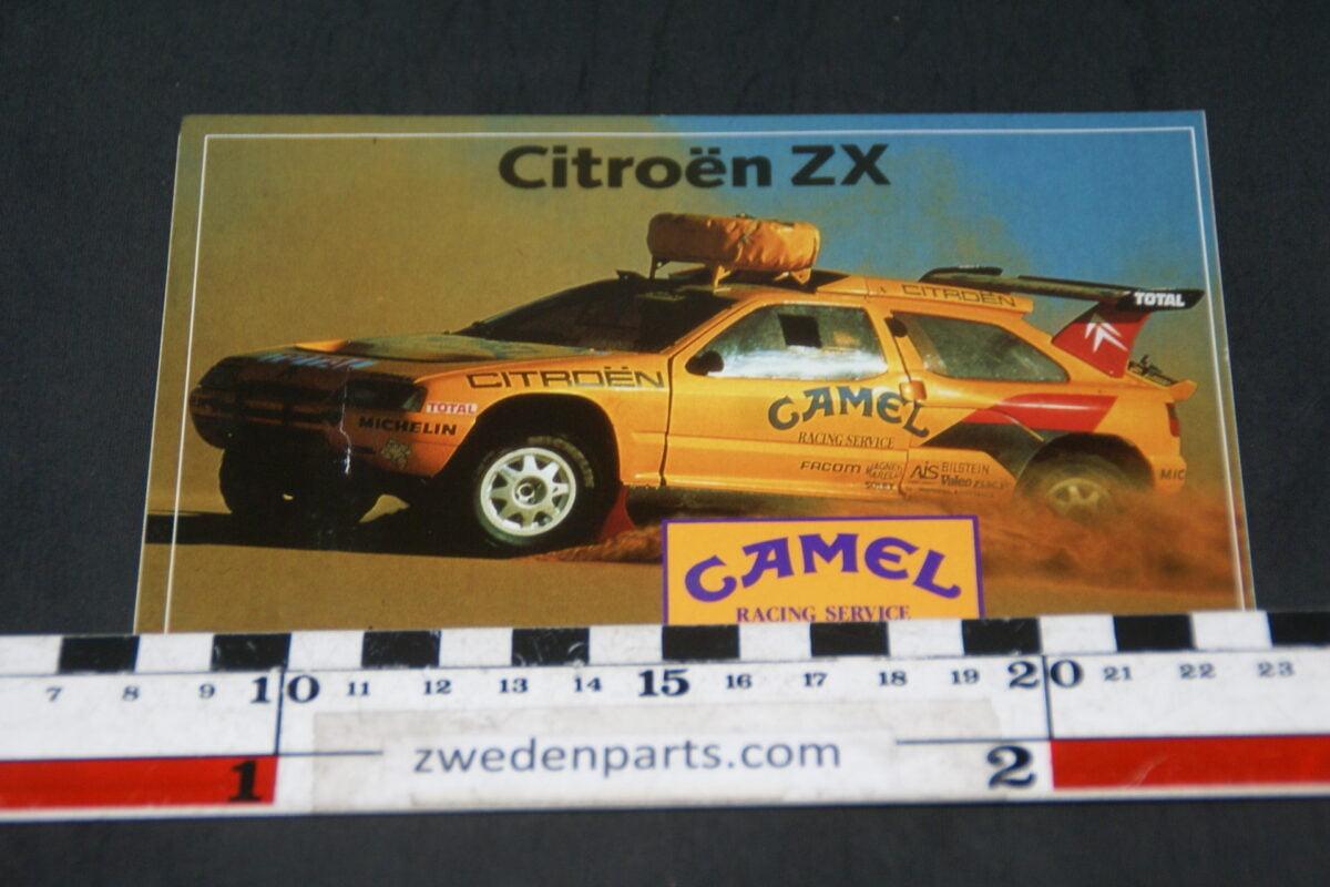DSC05224  sticker Citroen ZX Camelrallye