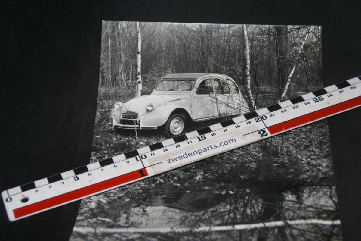 DSC05233 originele persfoto Citroen 2CV
