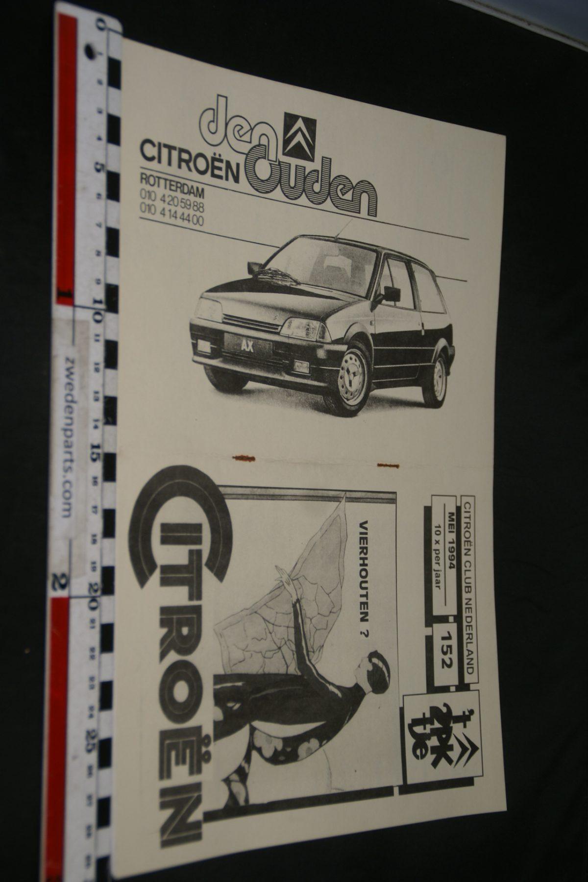 DSC05235 1994 mei tijdschrift Citroenclub