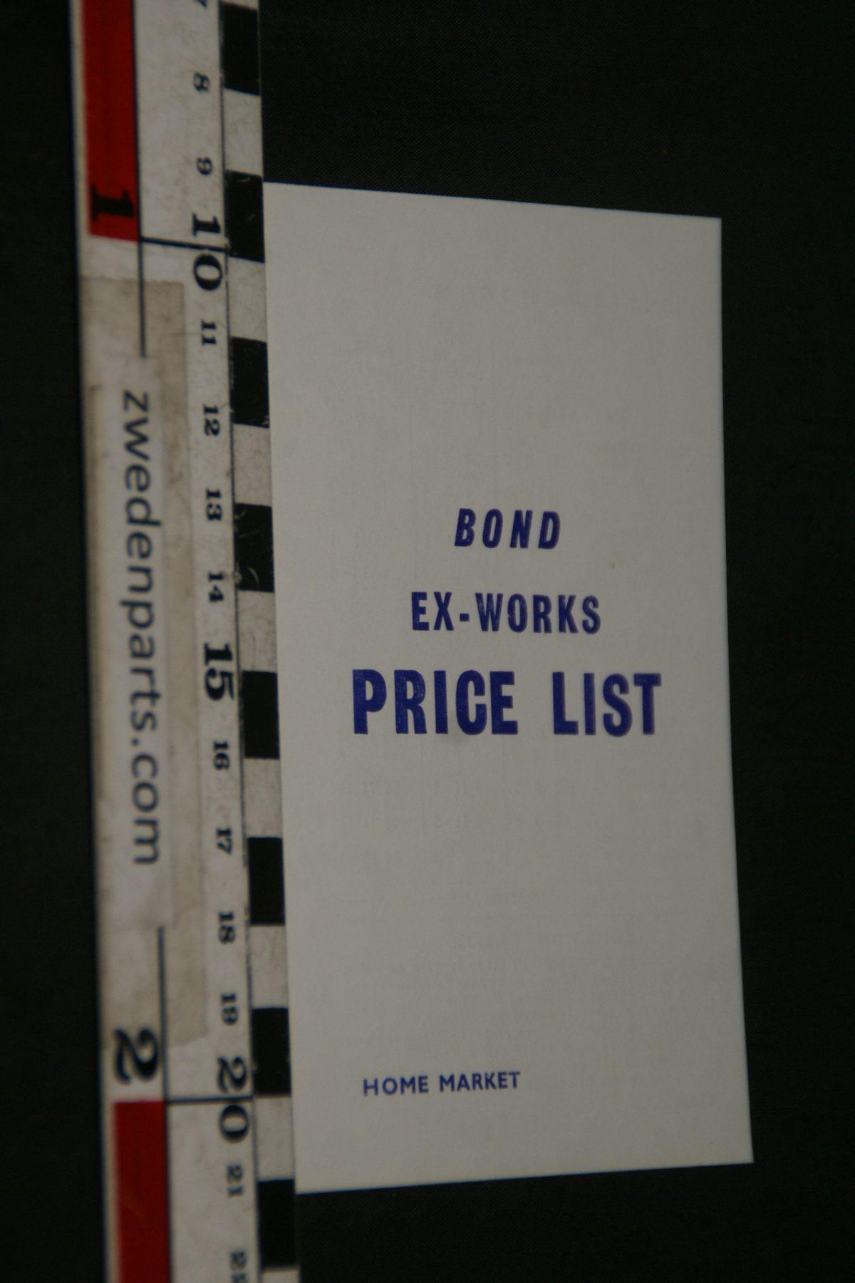 DSC05254 1968 brochure prijslijst Bond