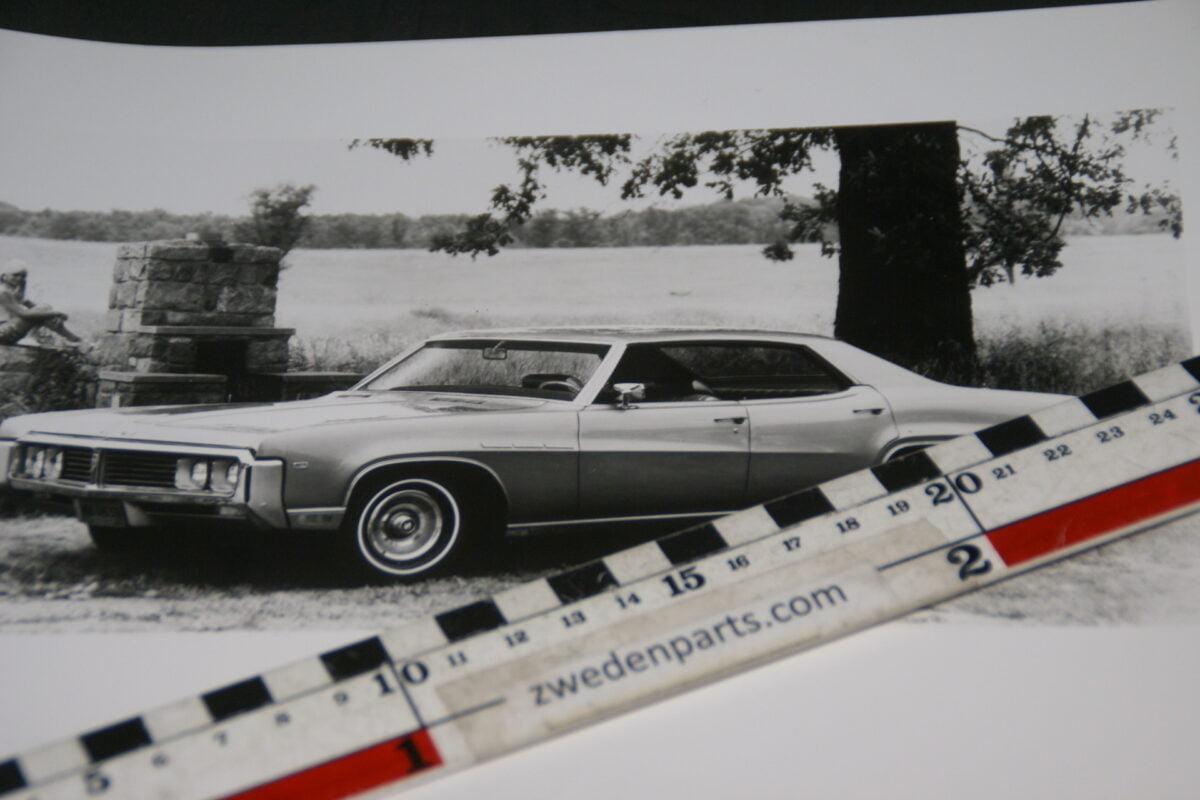 DSC05270 1969 originele persfoto Buick Lesabre