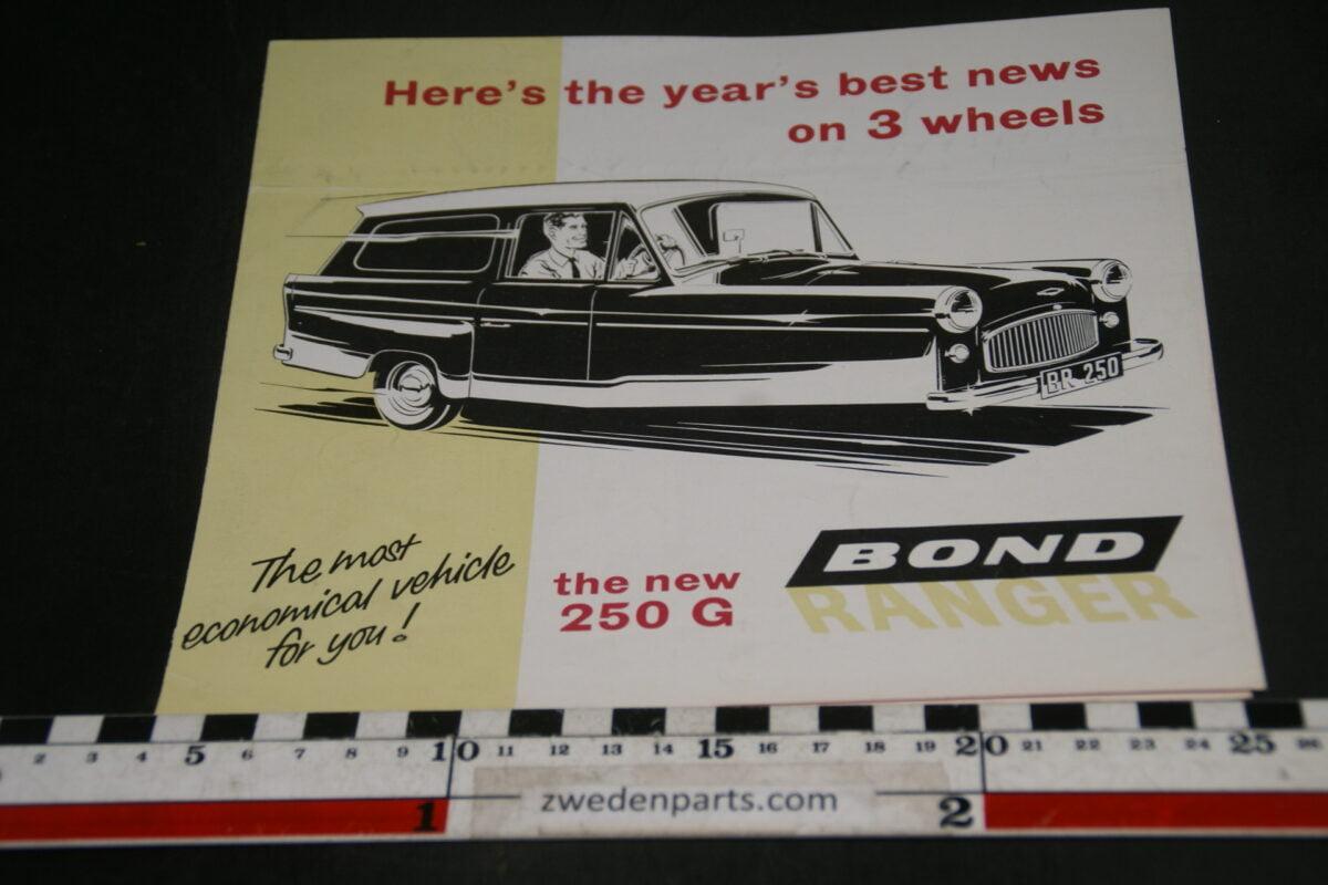 DSC05273 brochure Bond Ranger