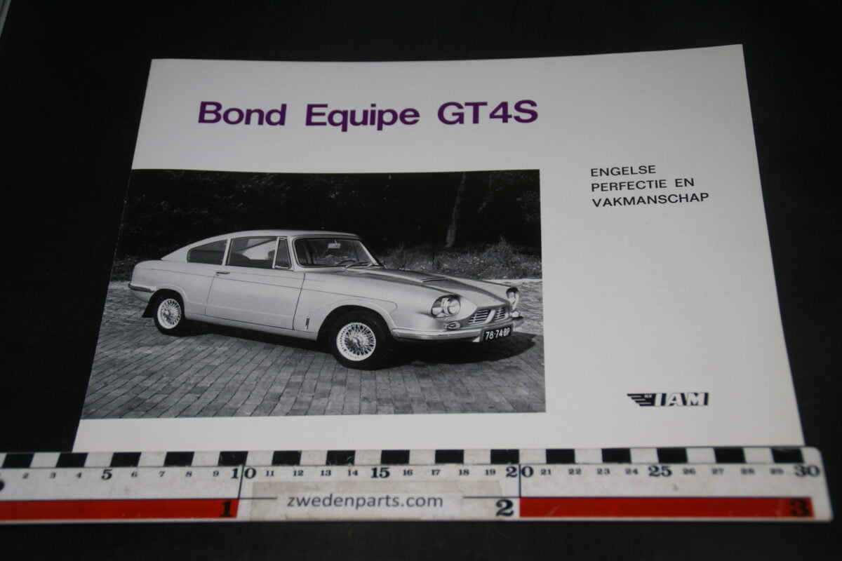 DSC05287 brochure Bond Equipe GT4S