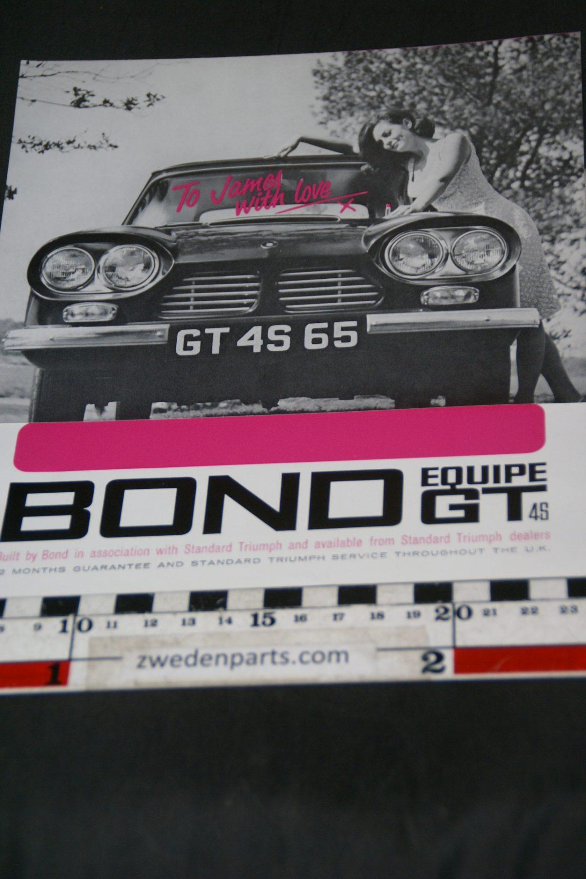 DSC05290 brochure Bond Equipe GT4S