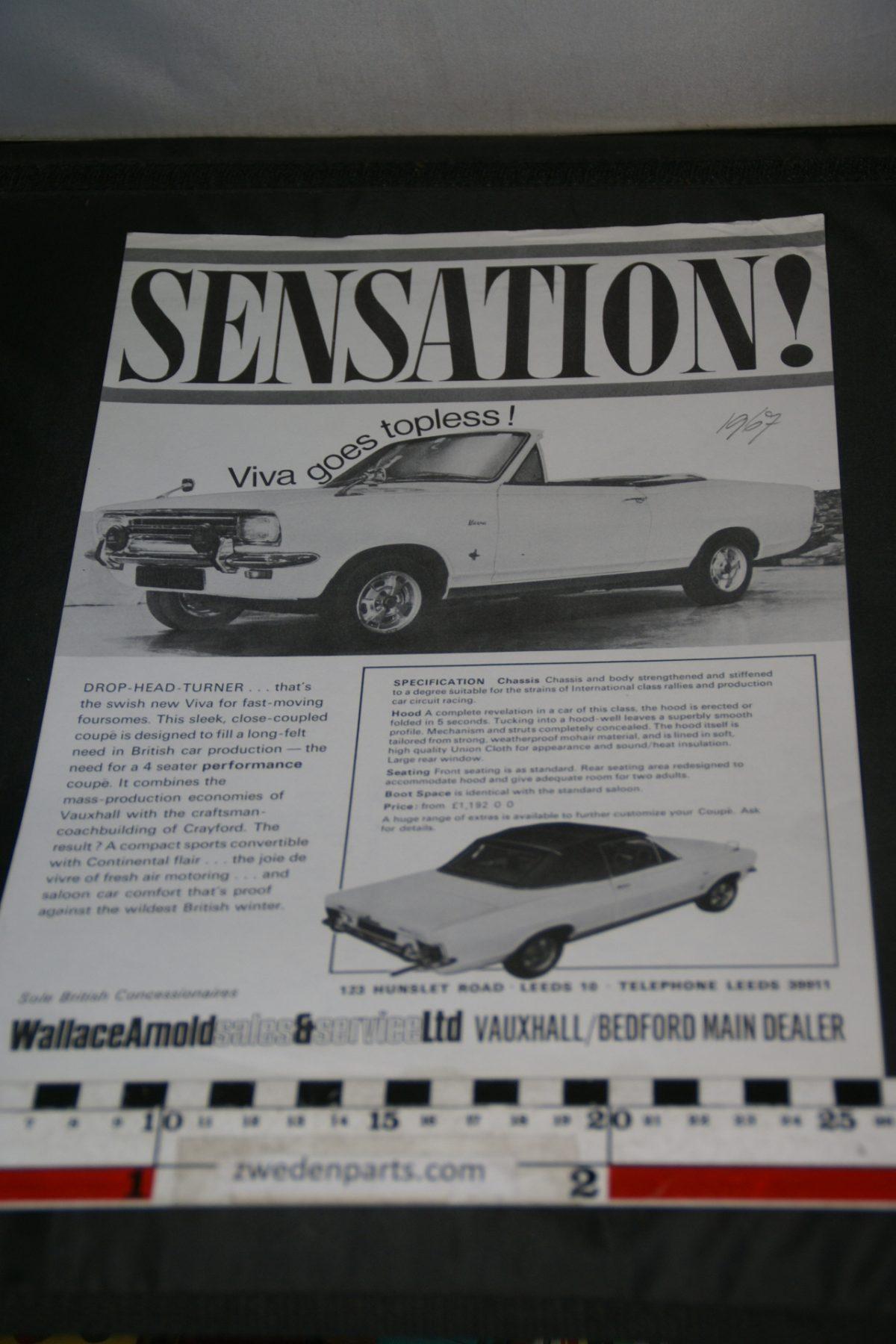 DSC05292 1967 brochure Vauxhall Viva Convertible