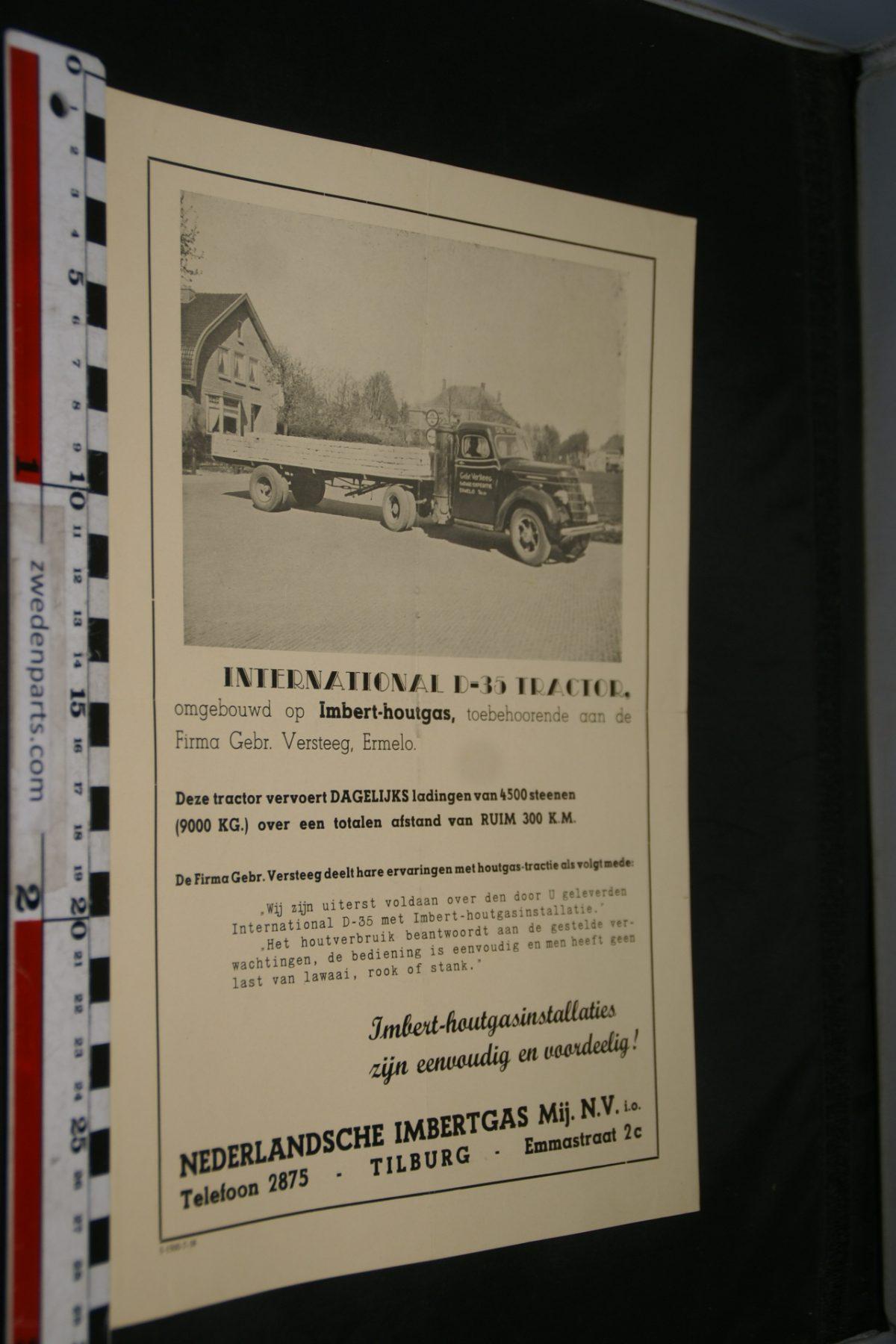 DSC05320 1938 brochure International D-35 Tractor Houtgas