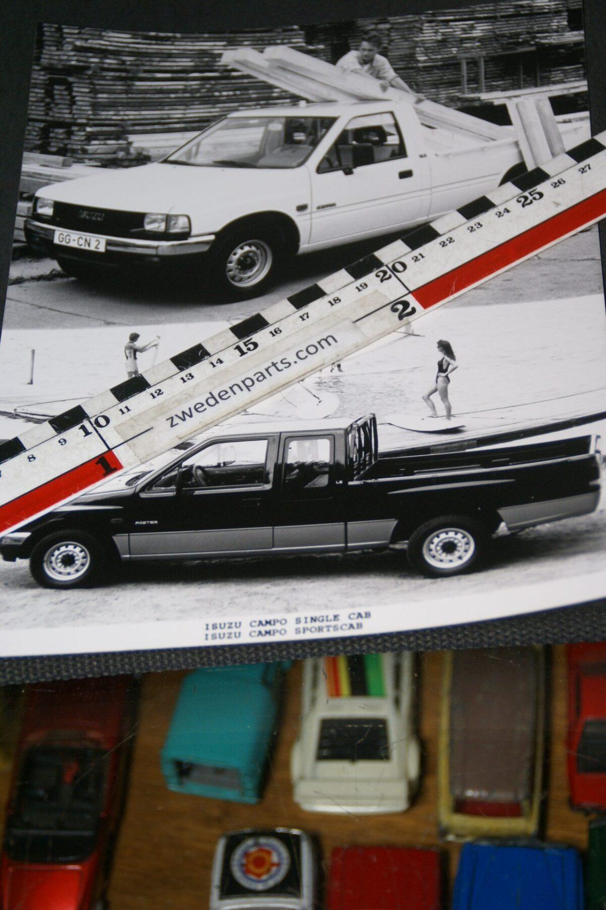 DSC05322 originele persfoto Isuzu Campo pickup
