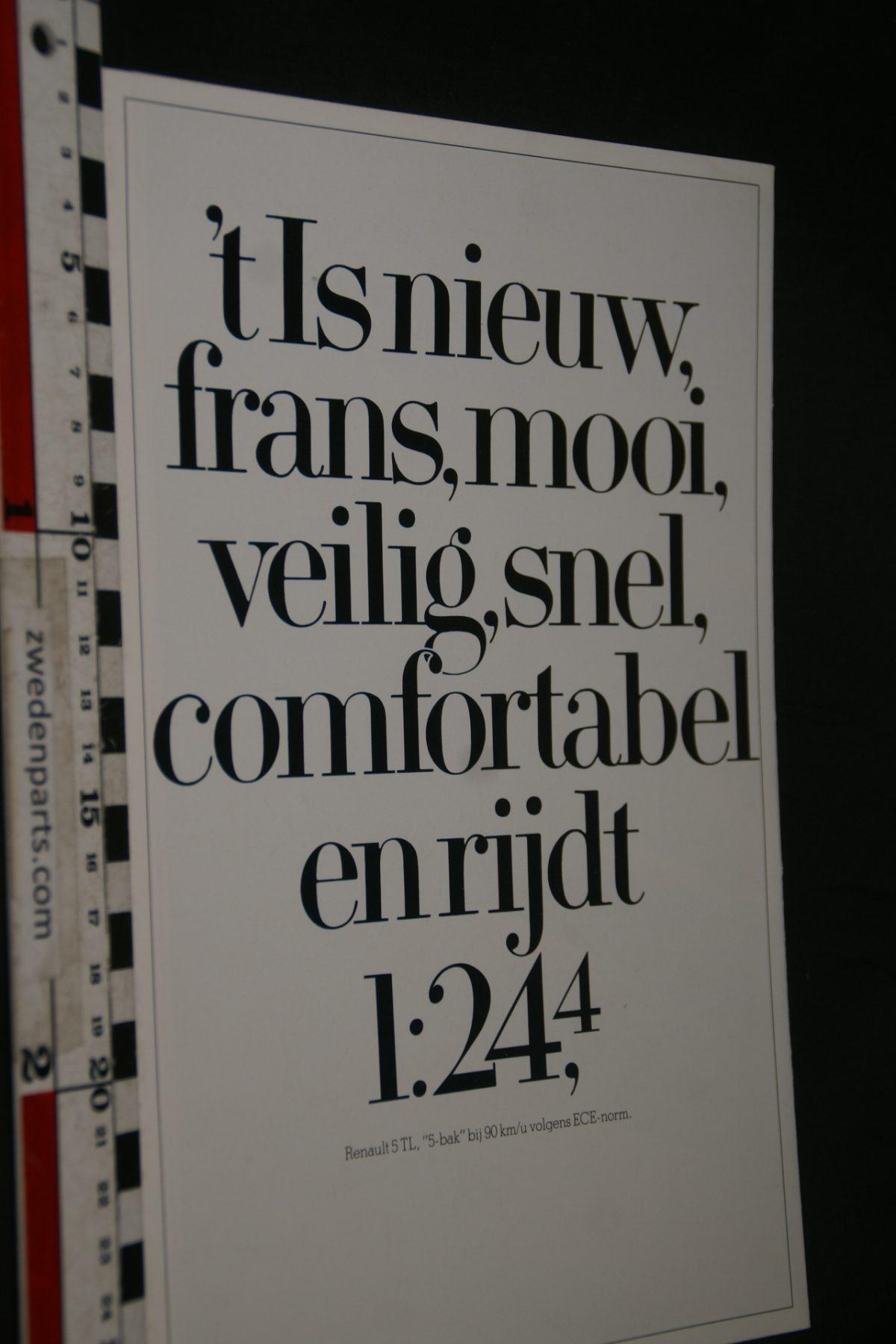 DSC05324 1985 brochure Renault 5