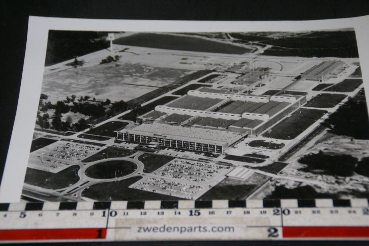 DSC05329 ca 1969 originele persfoto General Motors fabriek in Strasbourg