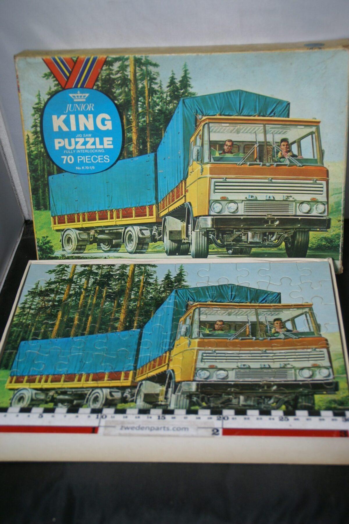 DSC05491 KING Daf puzzel 60er jaren