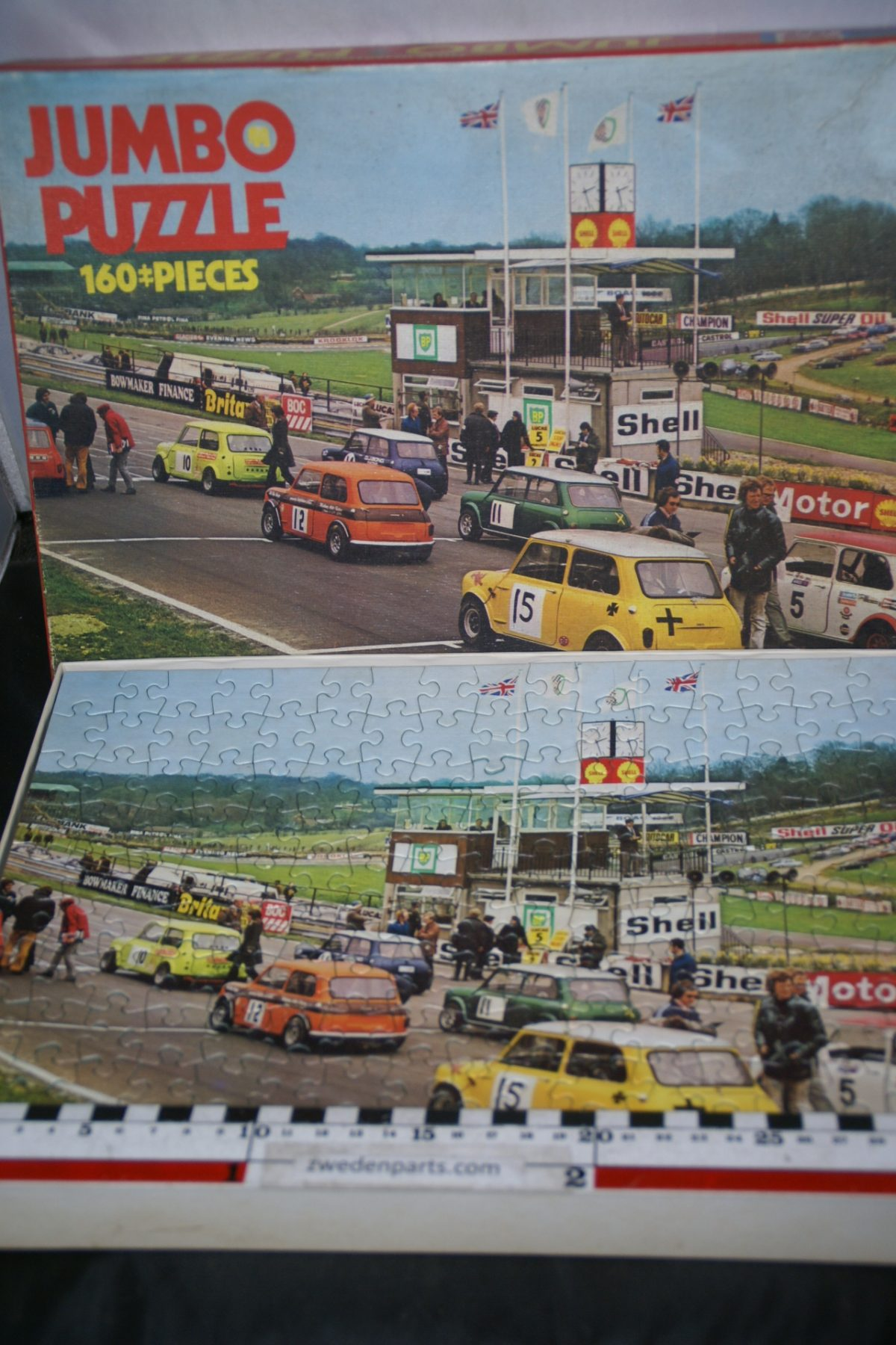 DSC05492 Jumbo Mini race  puzzel 60er jaren