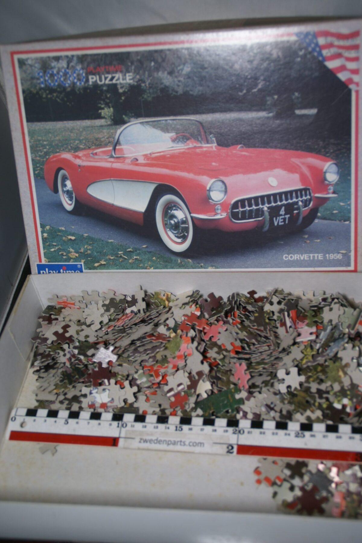 DSC05501 1956 Chevrolet Corvette puzzel 60er jaren
