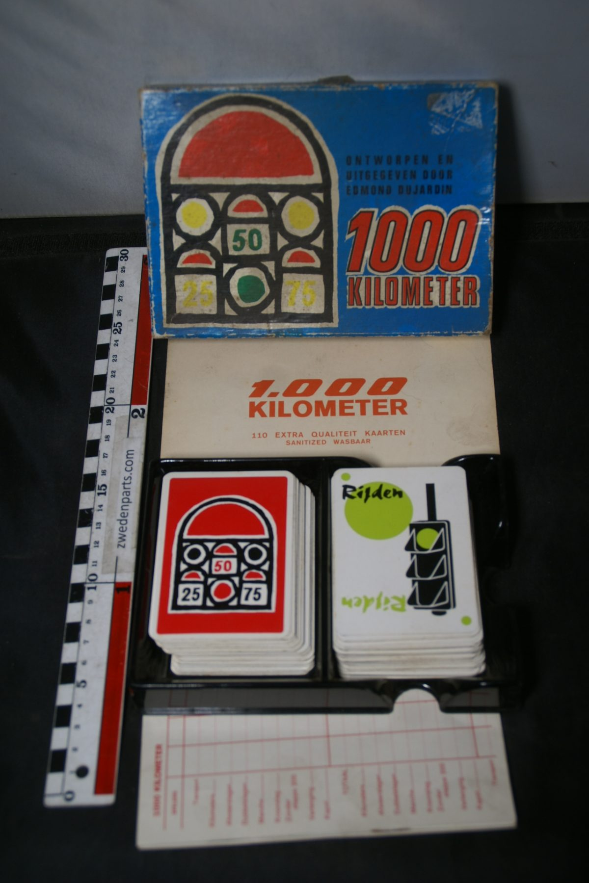 DSC05502 kaartspel 1000 kilometer nieuwstaat