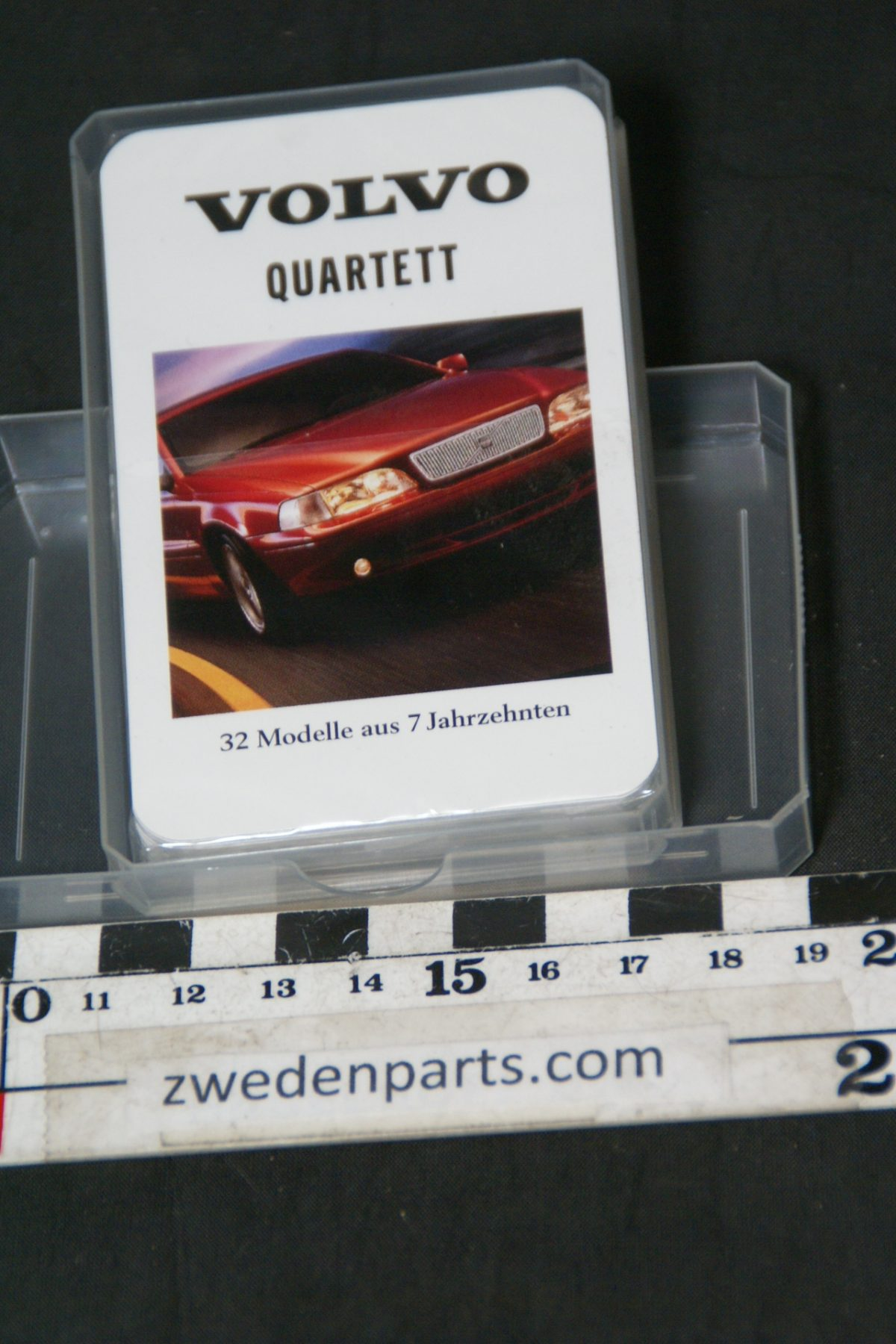 DSC05504 kwartetspel Volvo  32 modellen mint