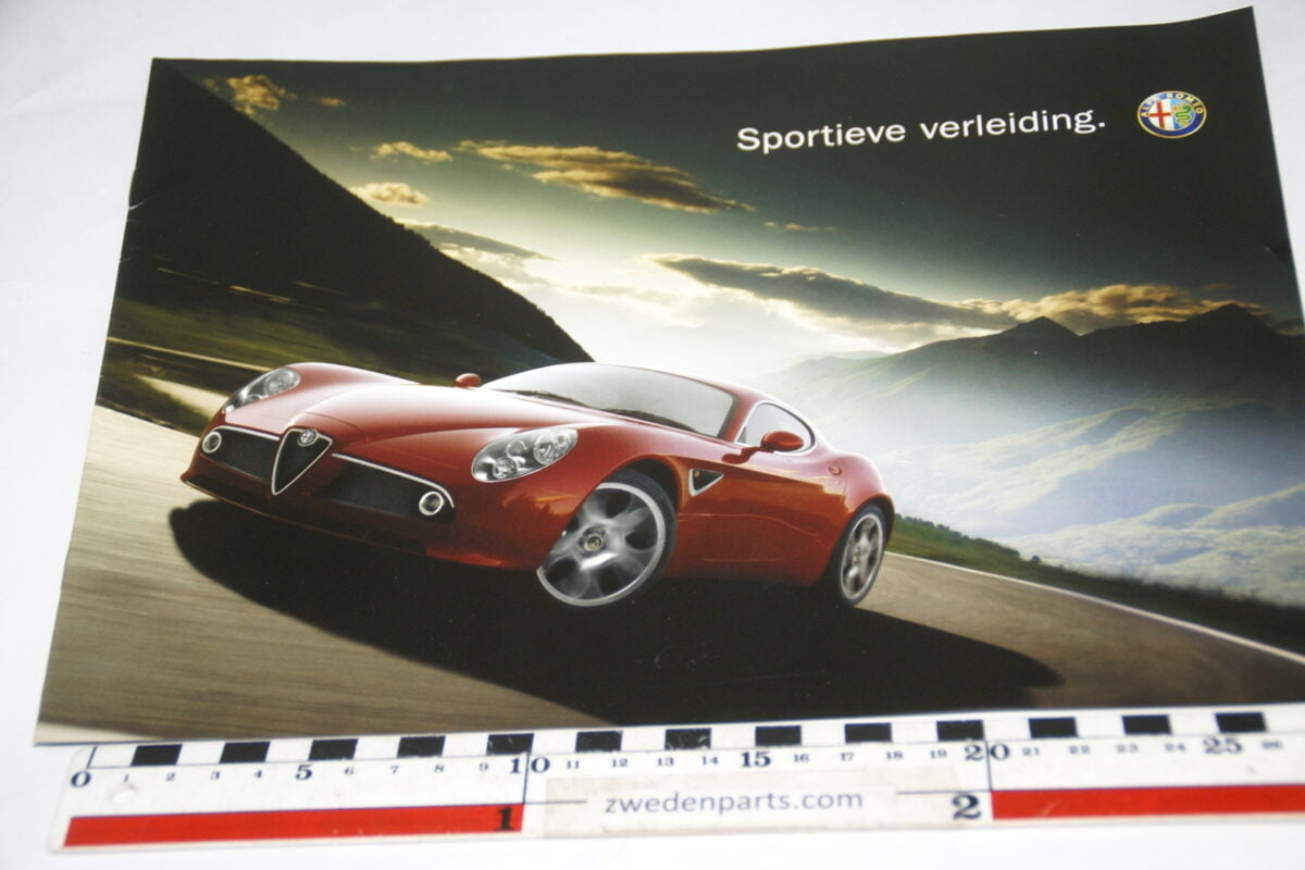 DSC05520 200703 brochure Alfa Romeo Sportieve verleiding