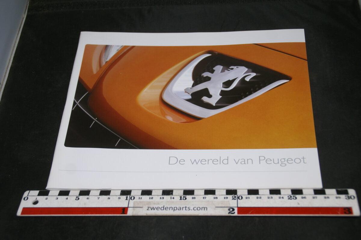 DSC05531 2007 brochure Peugeot de wereld van