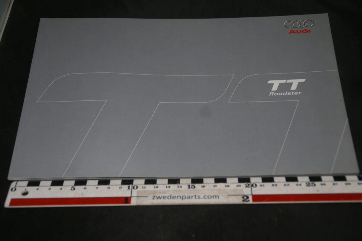 DSC05540 2006 brochure Audi TT Roadster nr 6331104.85.33
