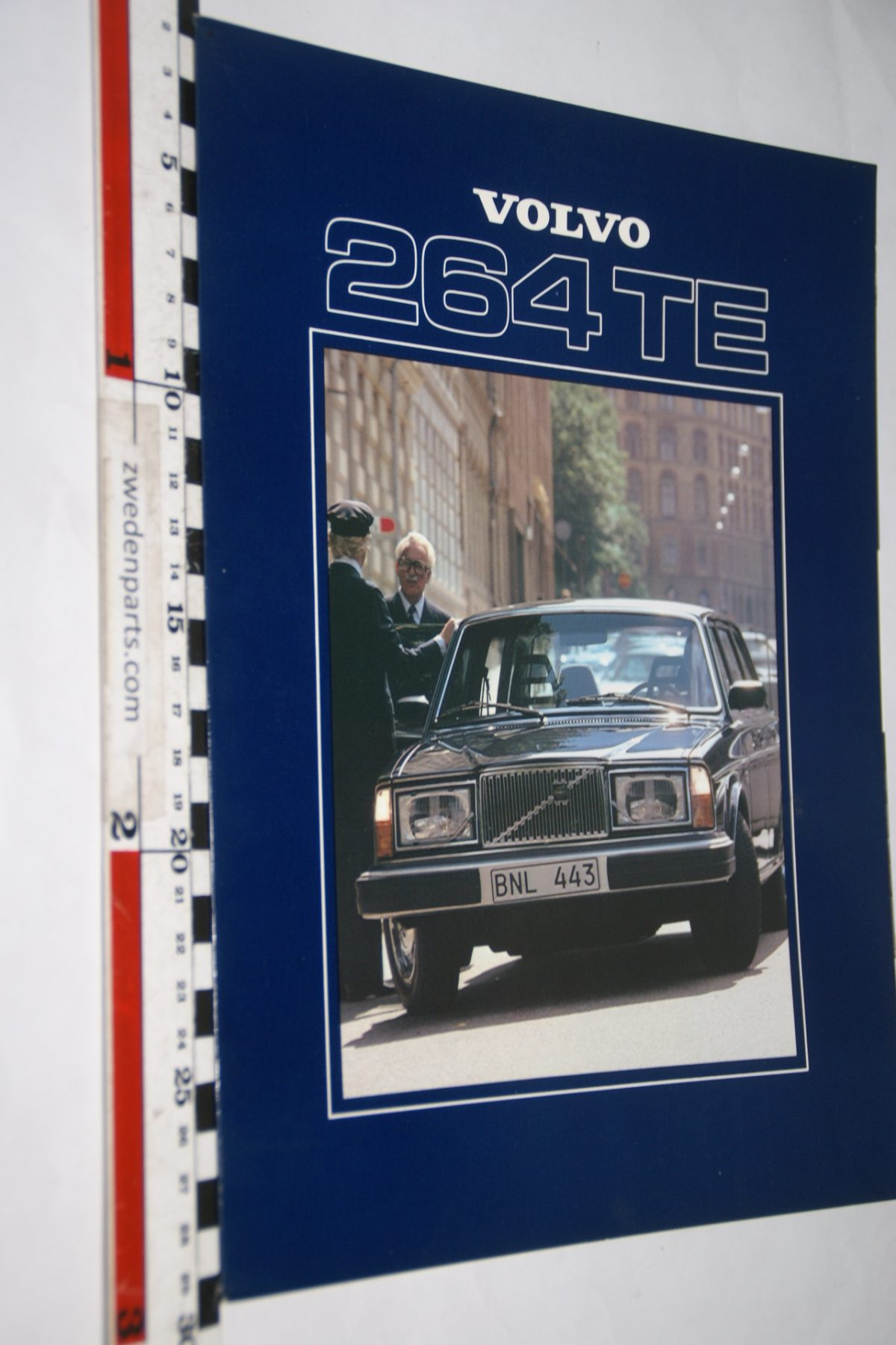 DSC05570 1979 brochure Volvo 264 TE nr ASP-PV 6818 Engels